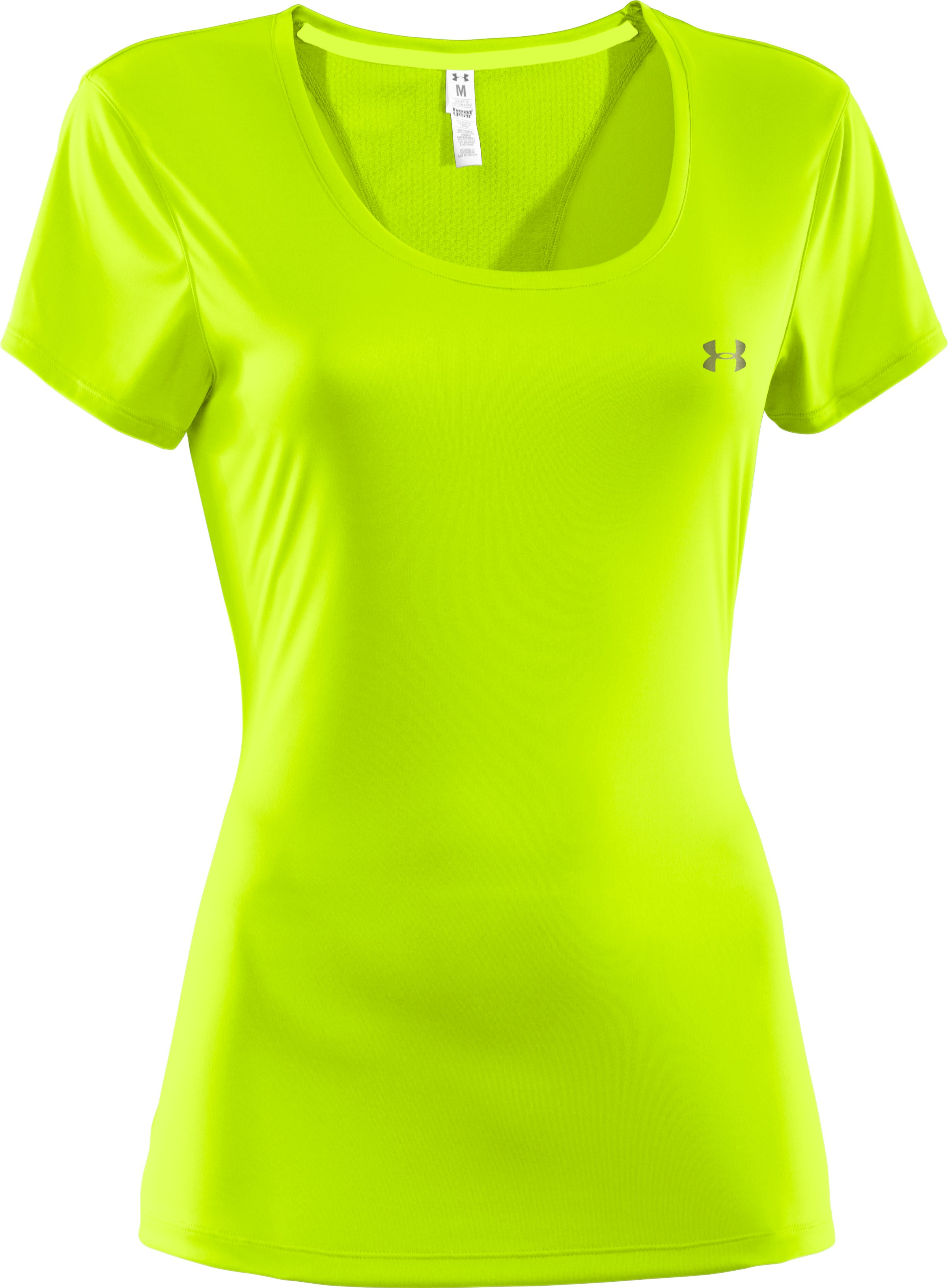 Women's UA Flyweight T-Shirt, High-Vis Yellow