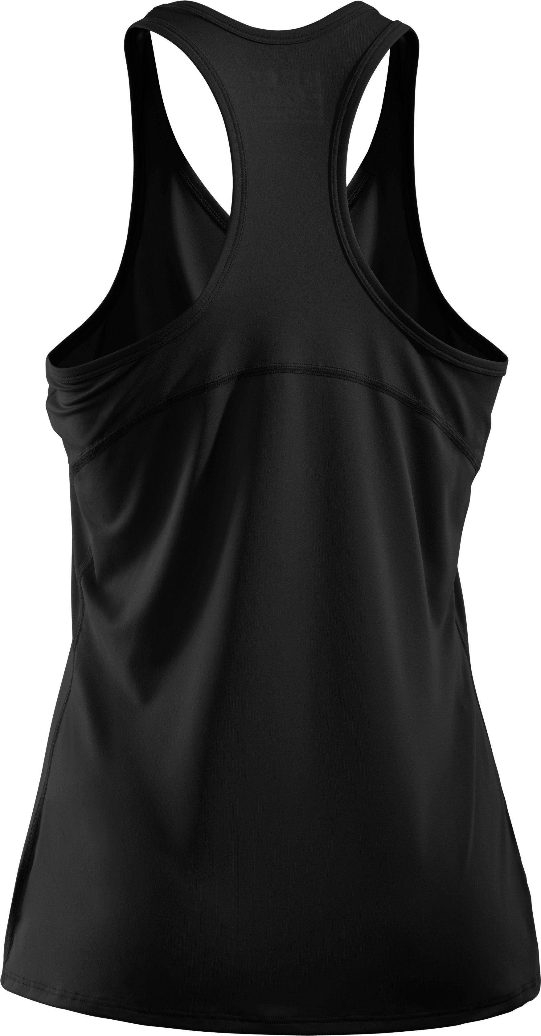 Women's HeatGear® Sonic Tank, Black ,