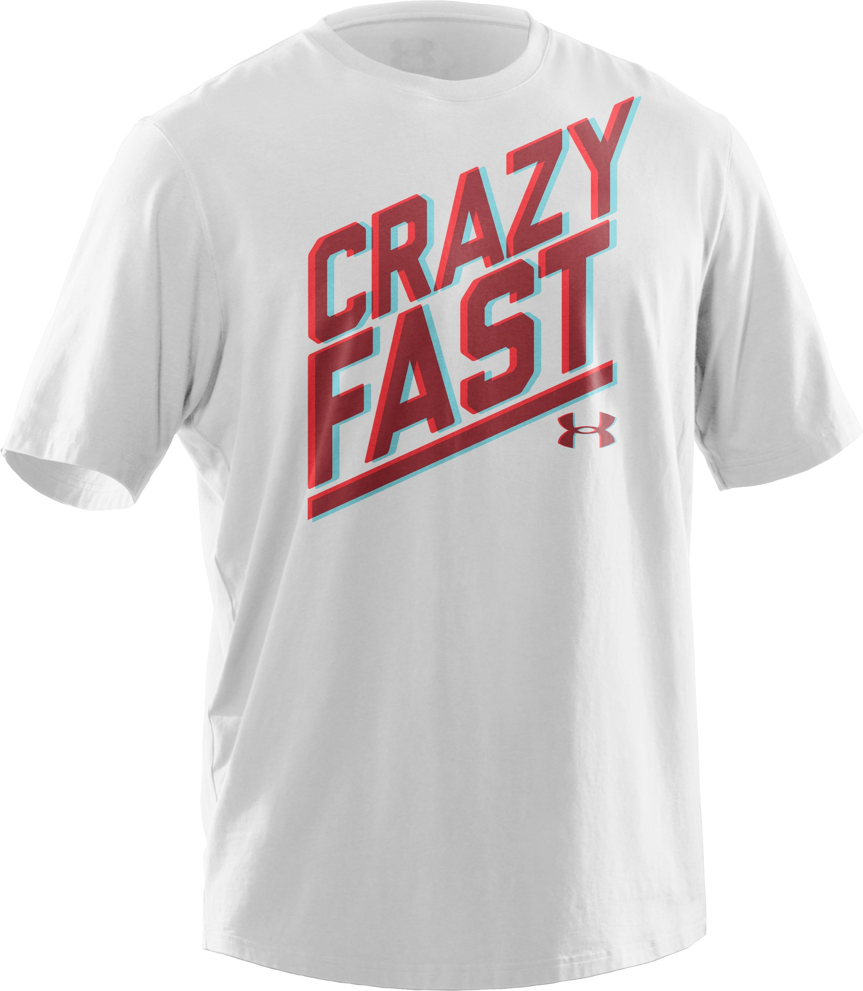 Men's Charged Cotton® Crazy Fast T-Shirt, White