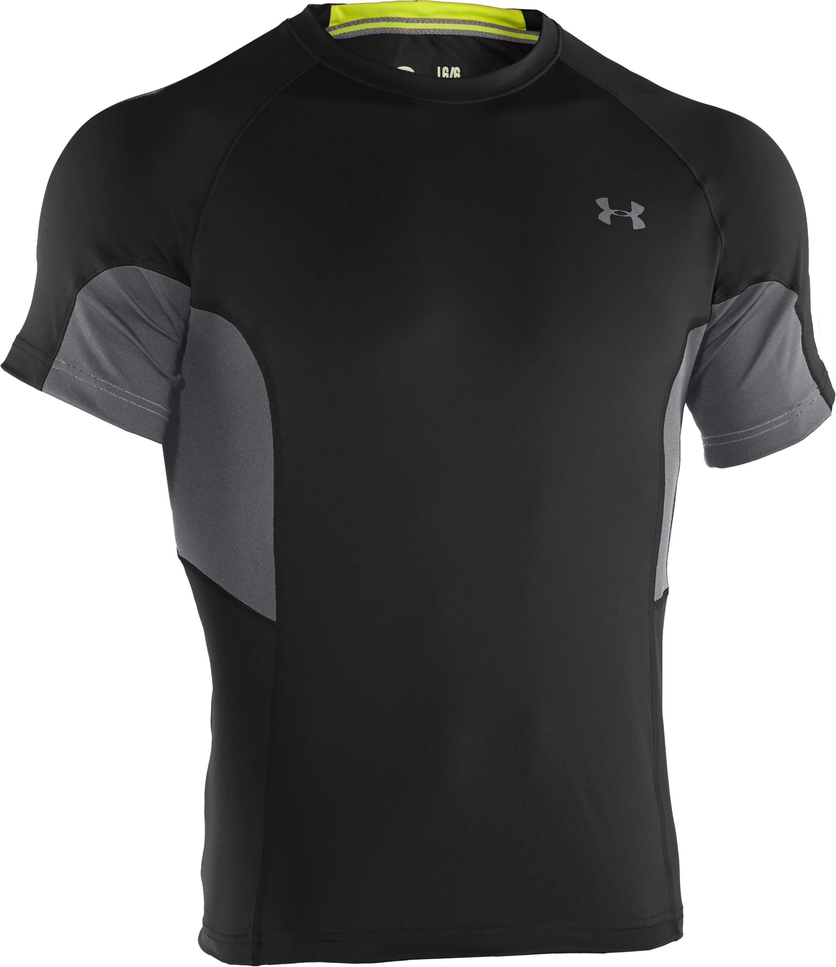 Men's UA Catalyst Mesh T-Shirt, Black , undefined