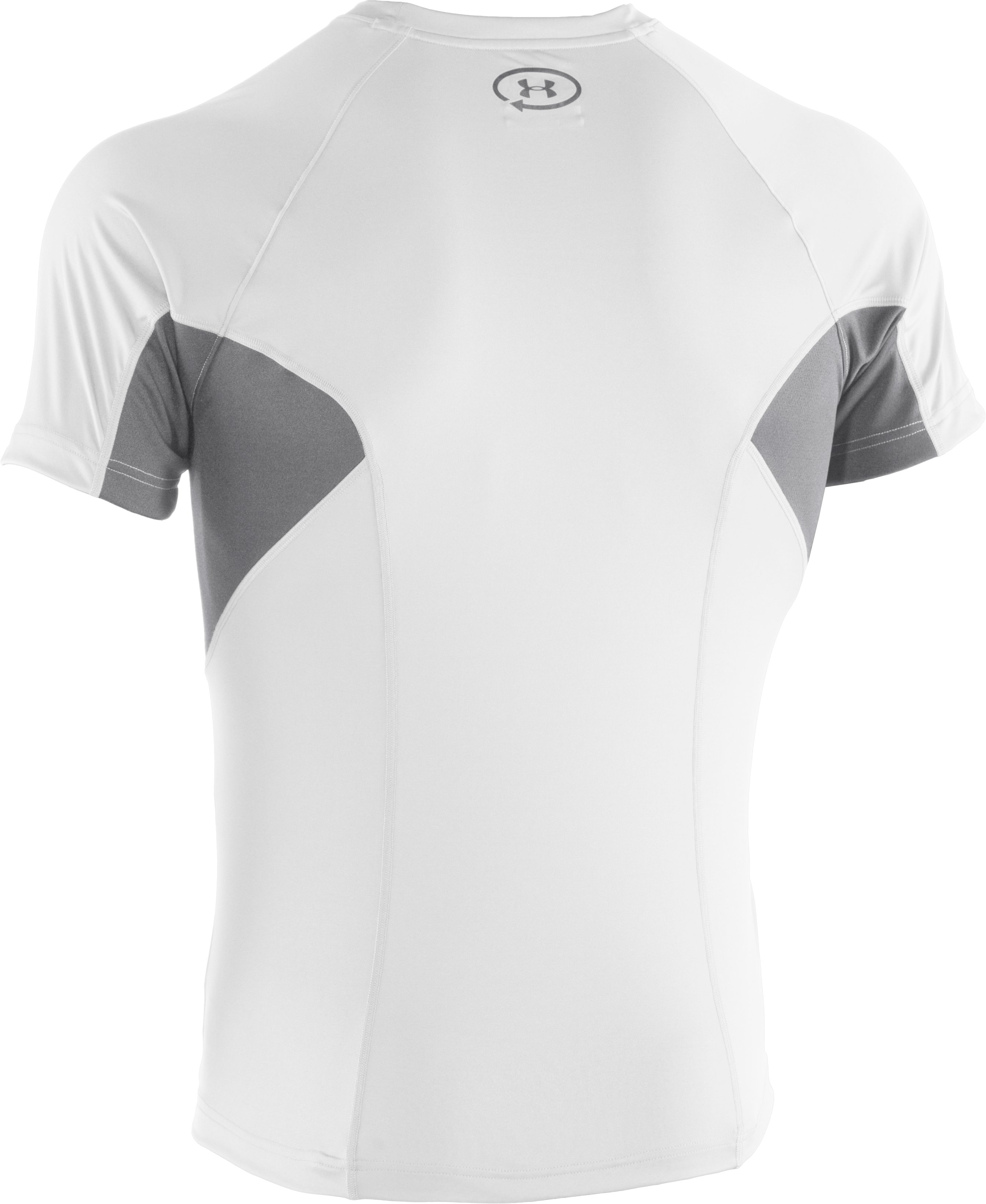 Men's UA Catalyst Mesh T-Shirt, White
