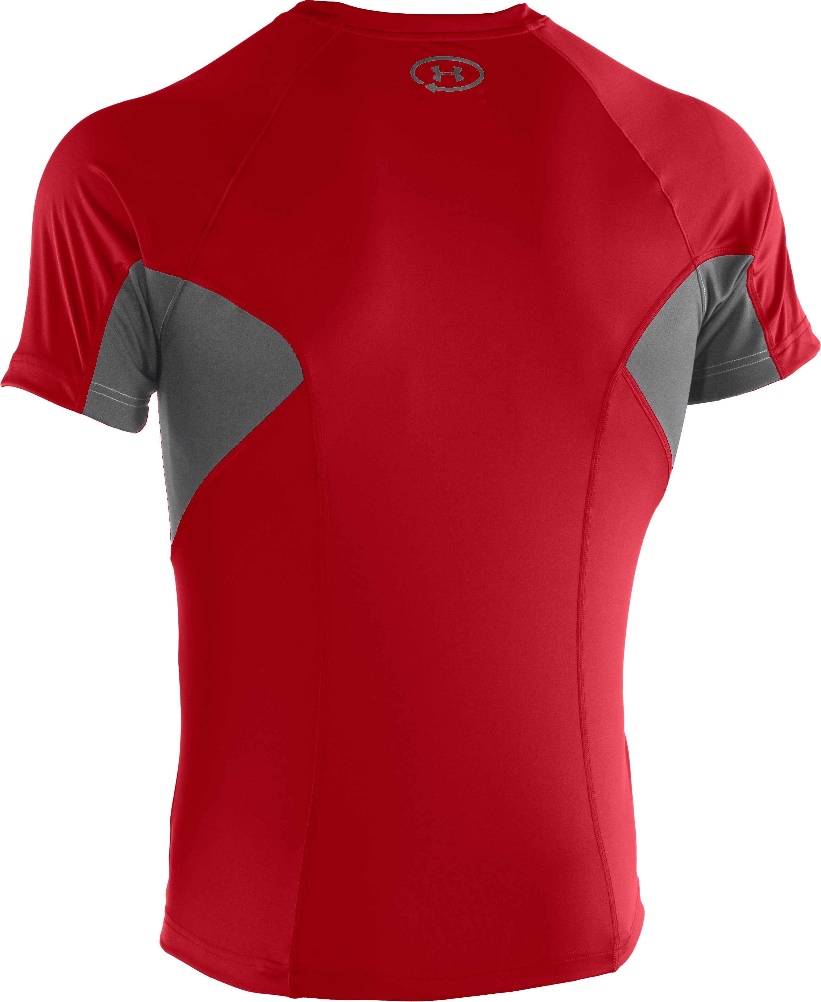 Men's UA Catalyst Mesh T-Shirt, Red