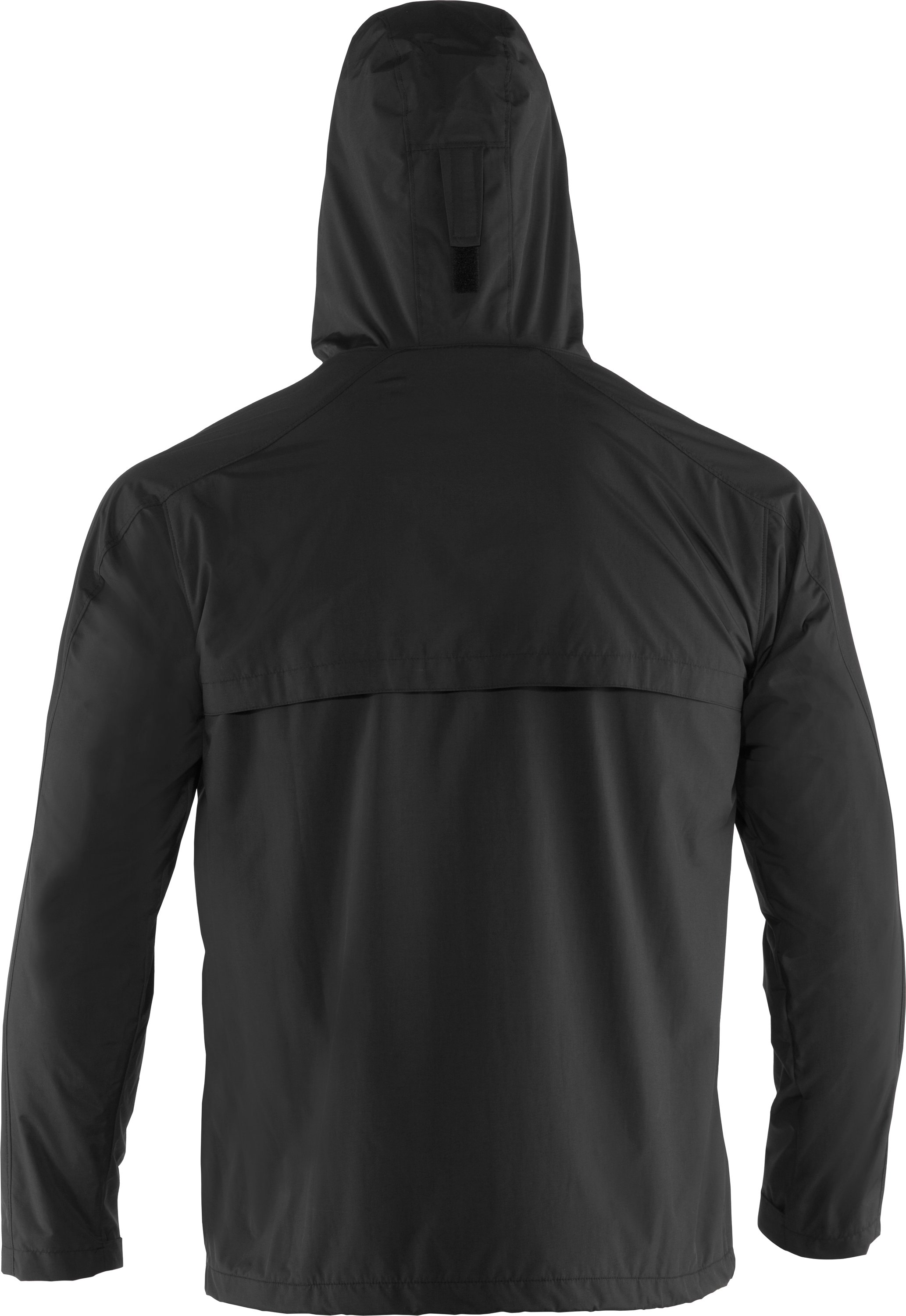 Men's UA Maelstrom Rain Jacket, Black , undefined