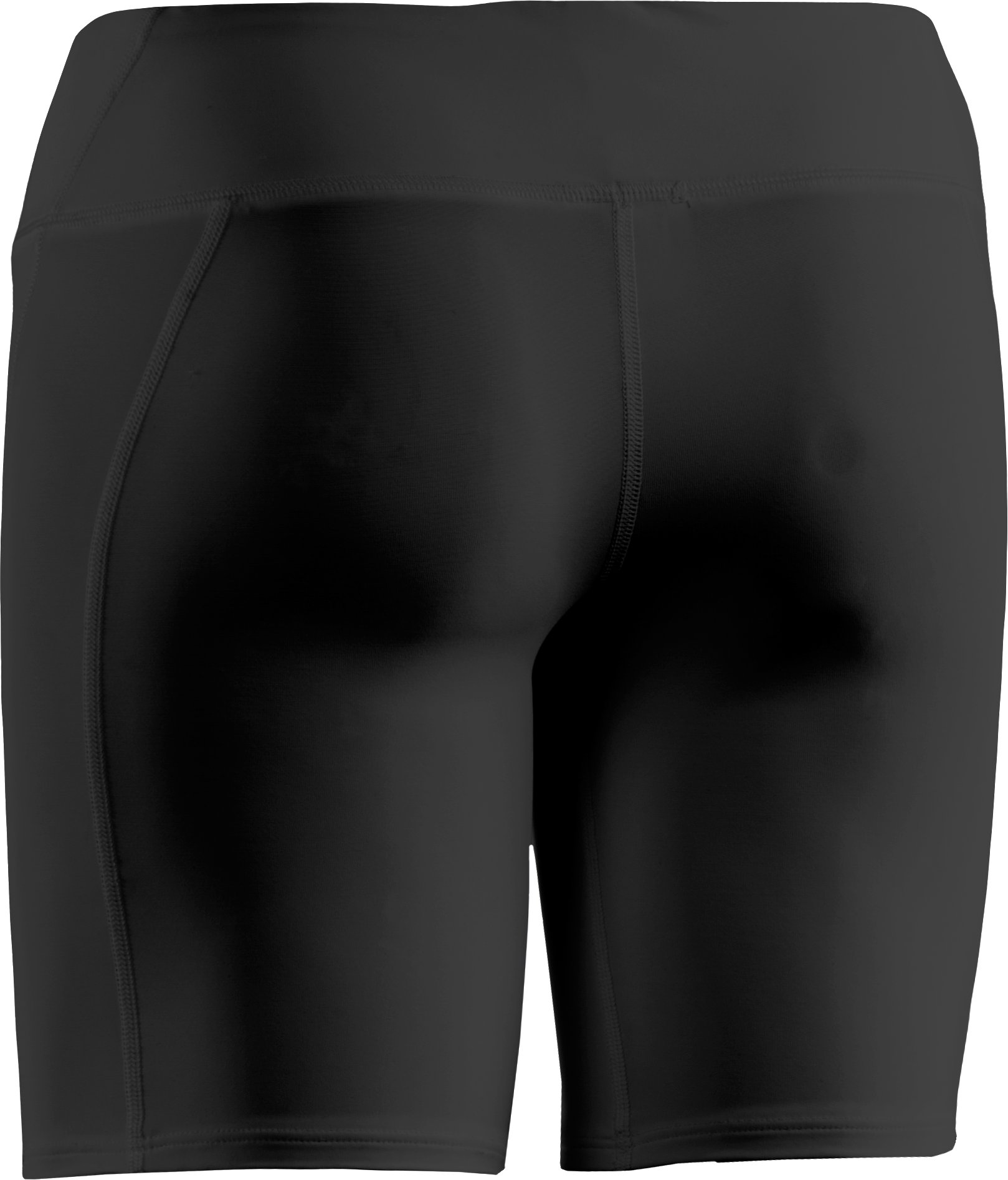 "Women's UA Authentic 7"" Compression Shorts, Black"