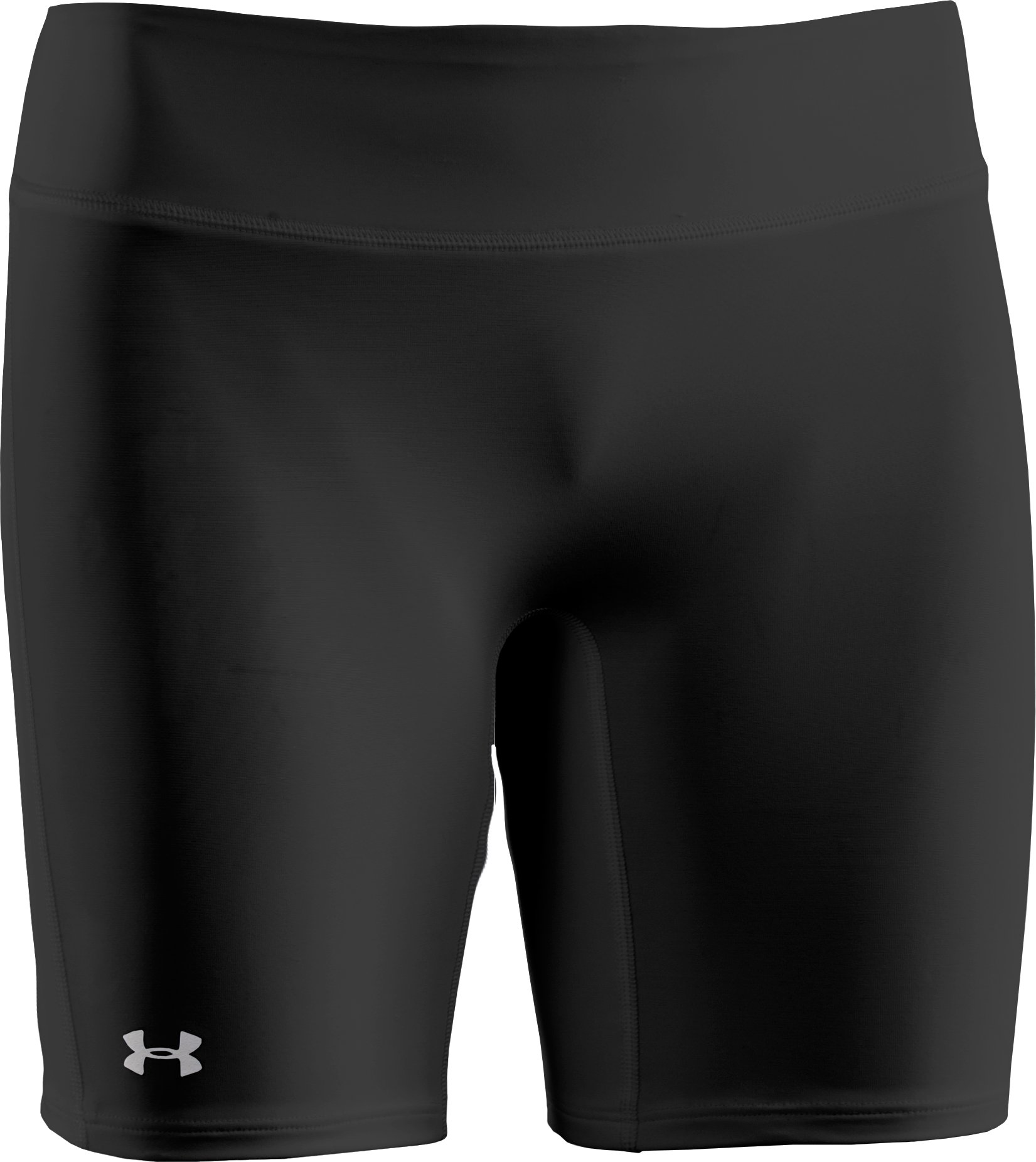 "Women's UA Authentic 7"" Compression Shorts, Black , undefined"