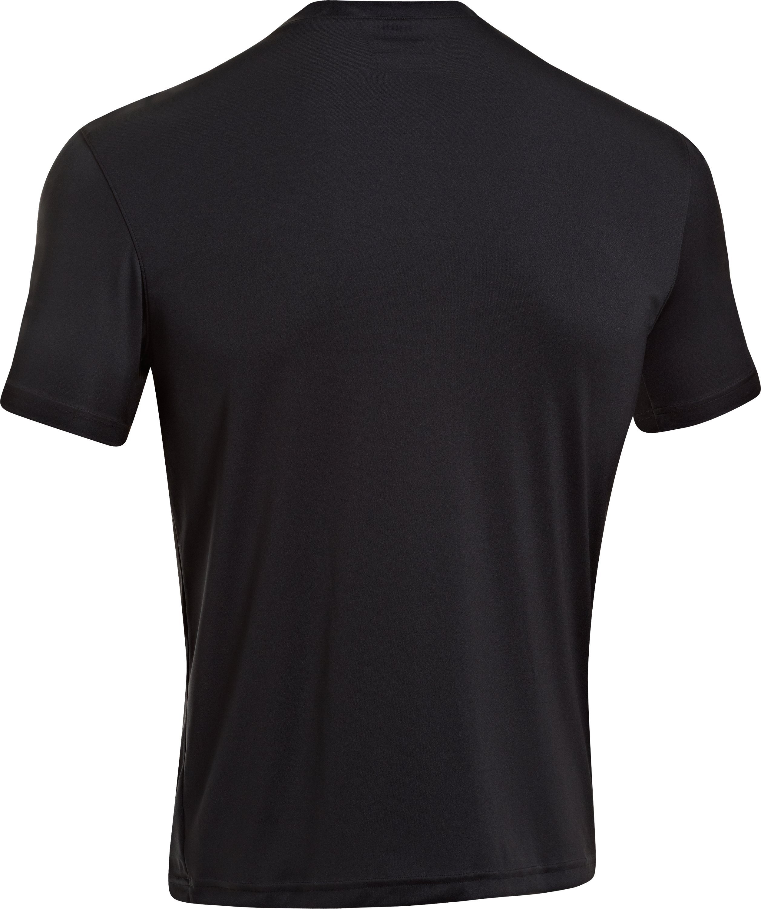 Men's HeatGear® Tactical Short Sleeve T-Shirt, Black