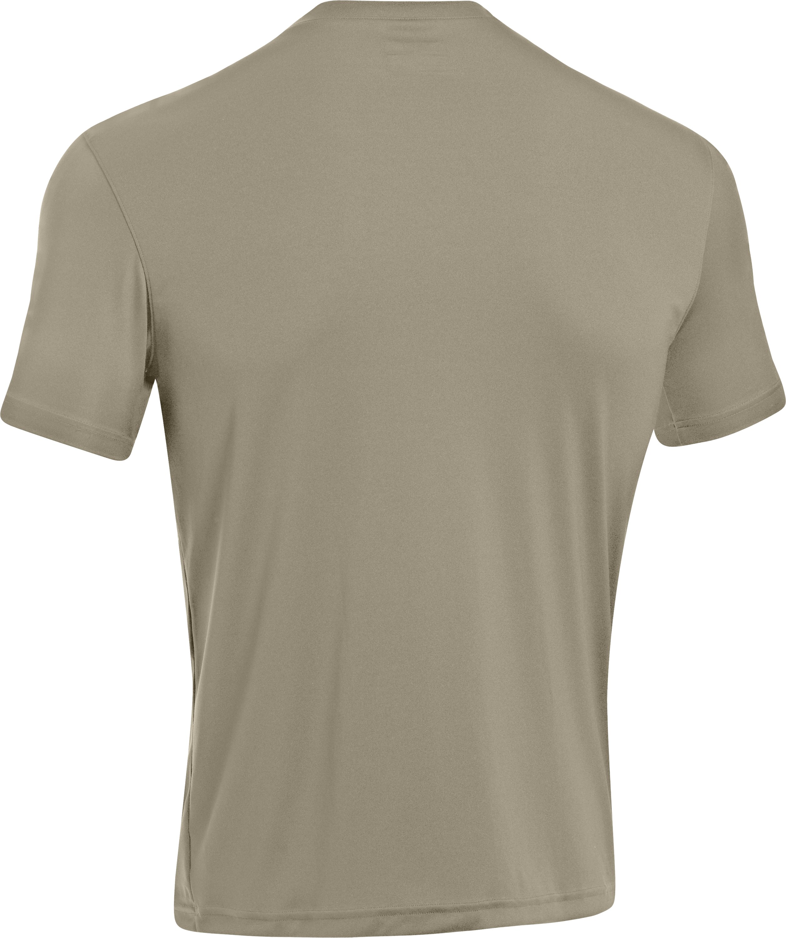 Men's HeatGear® Tactical Short Sleeve T-Shirt, Desert Sand