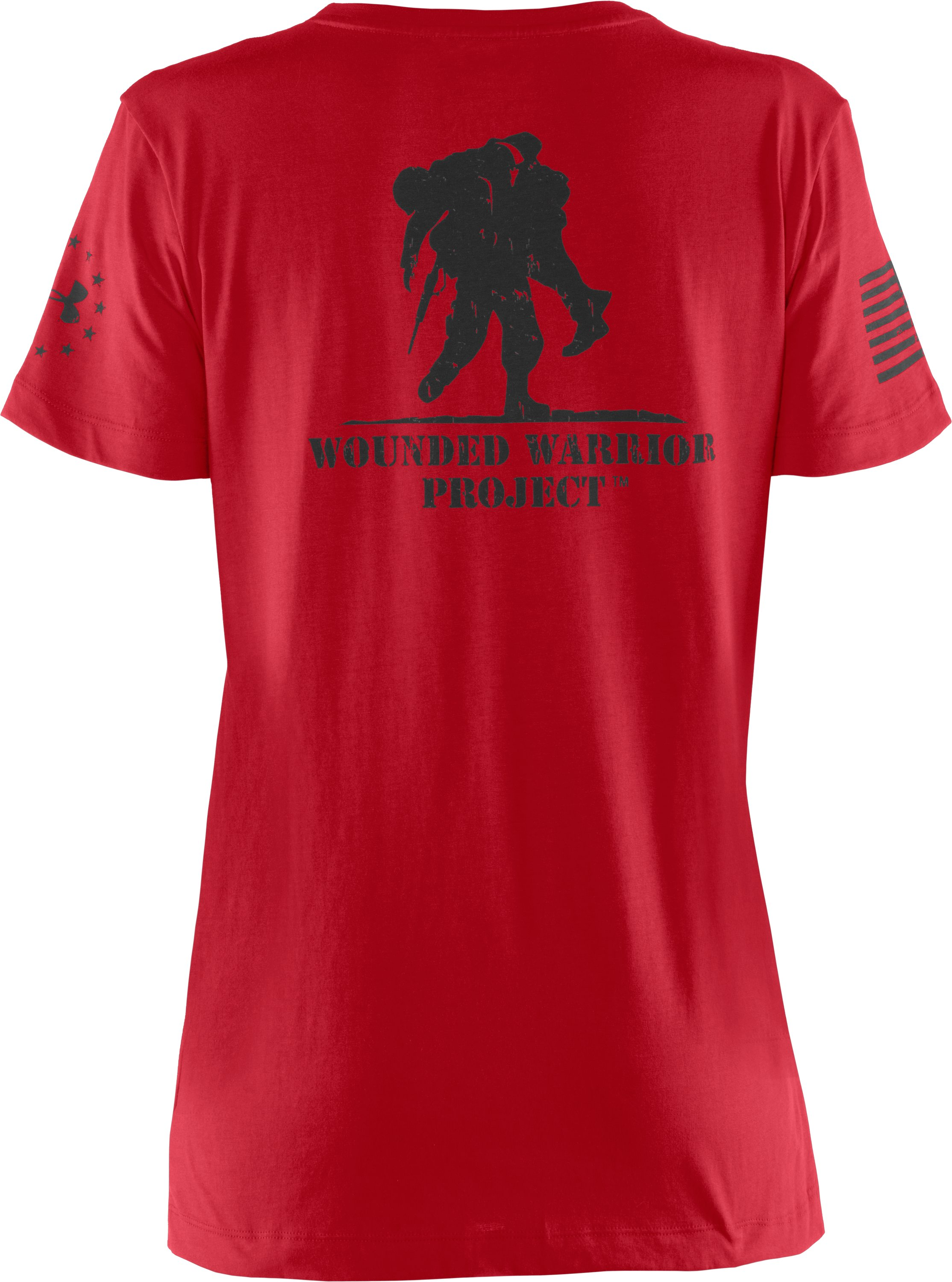 Women's WWP Short Sleeve T-Shirt, Red