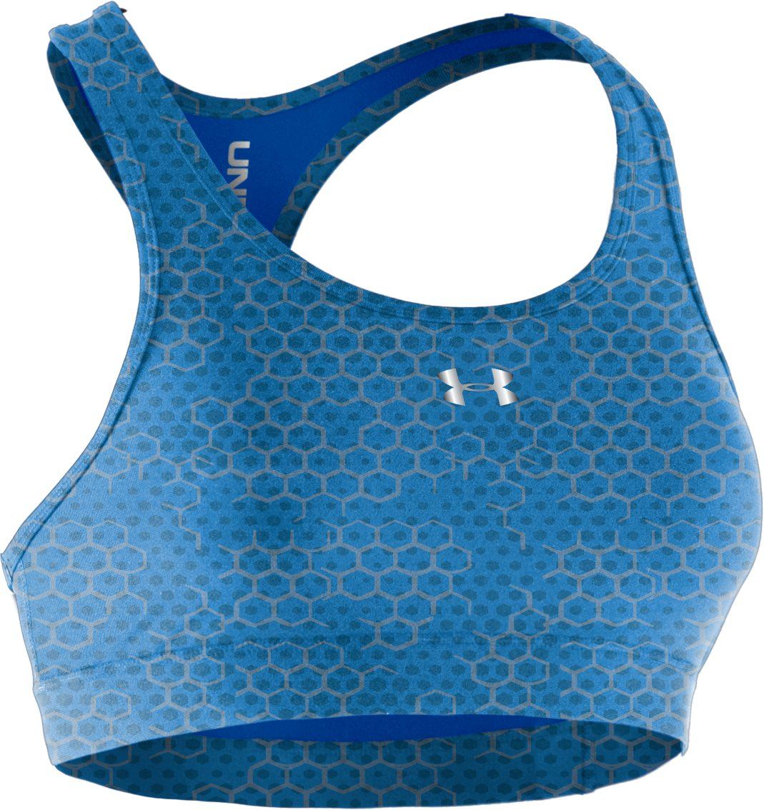 Women's HeatGear® Sonic Reversible Bra, Water,