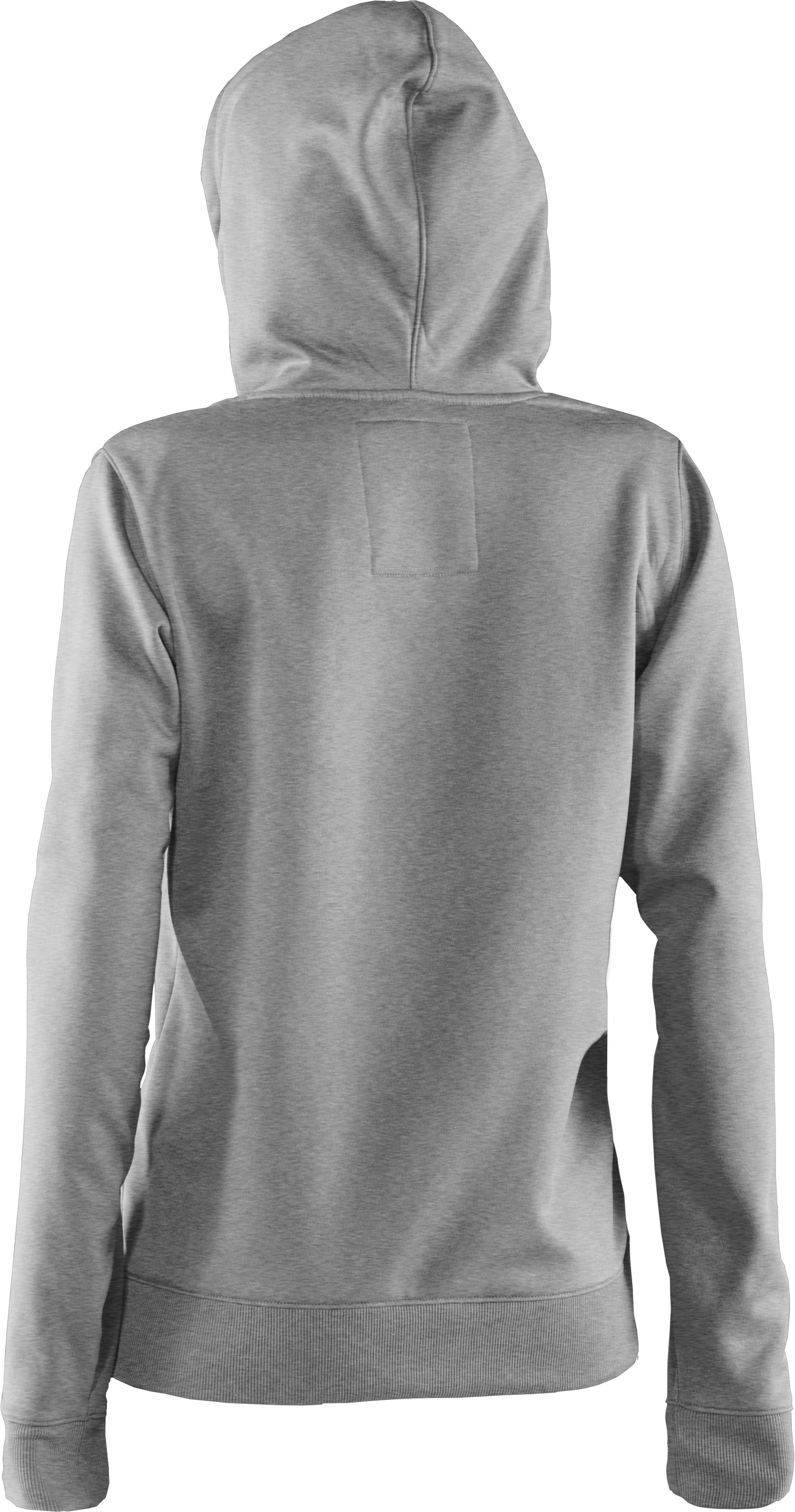 Women's Armour® Fleece Storm Printed Big Logo Hoodie, True Gray Heather