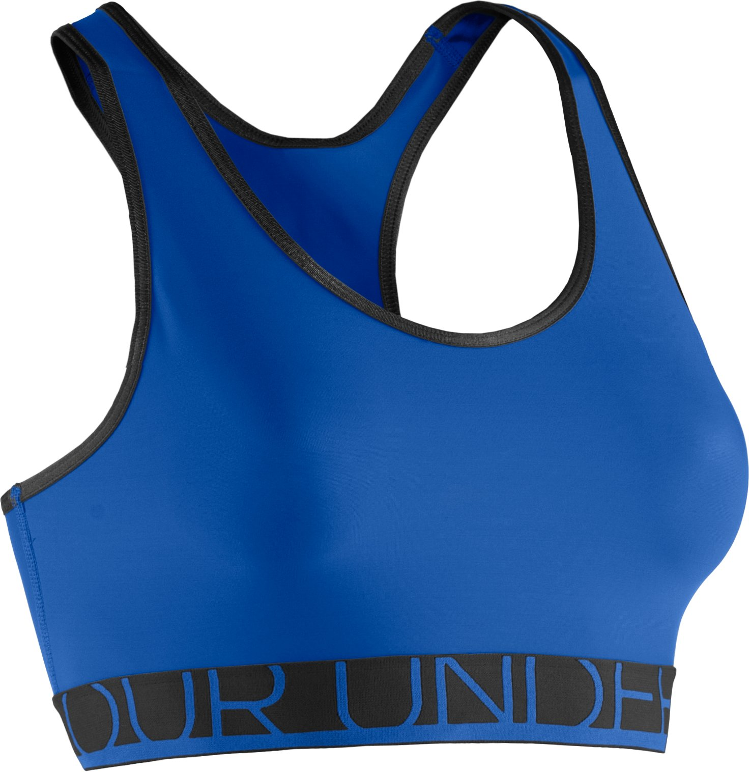 Women's UA HeatGear® Armour Sports Bra, BLU-AWAY