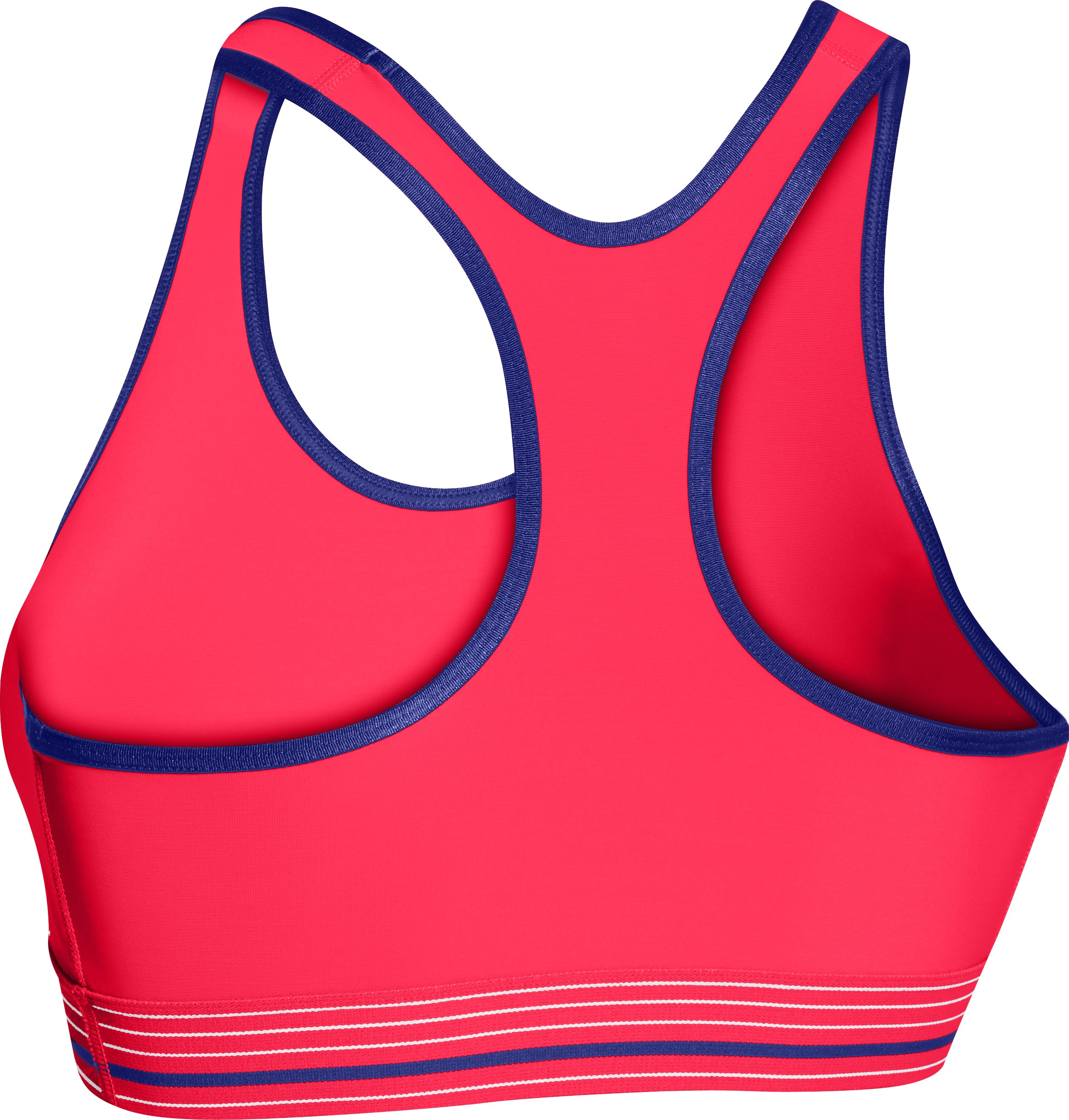 Women's UA HeatGear® Armour Sports Bra, Neo Pulse