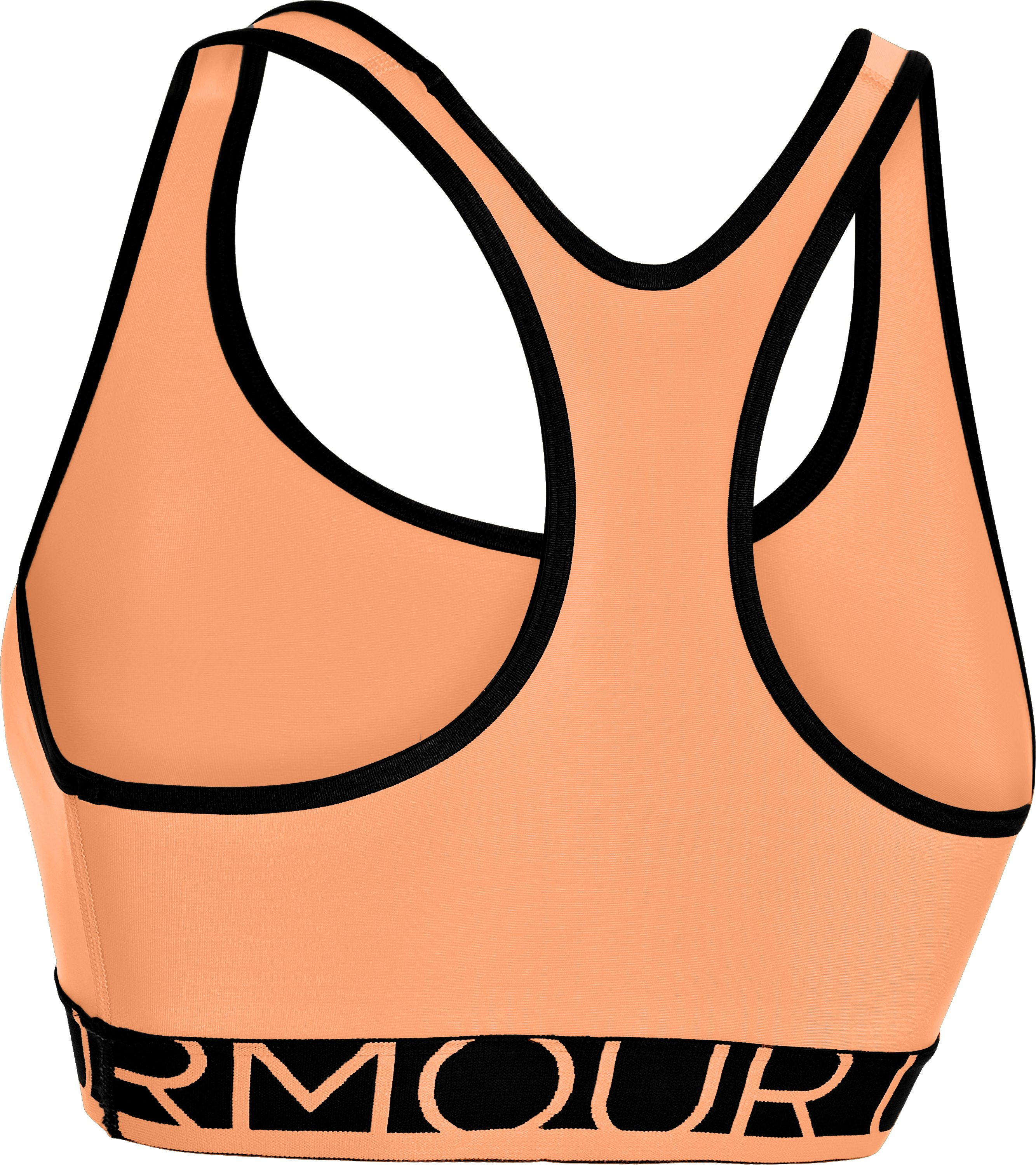 Women's UA HeatGear® Armour Sports Bra, Afterglow, undefined