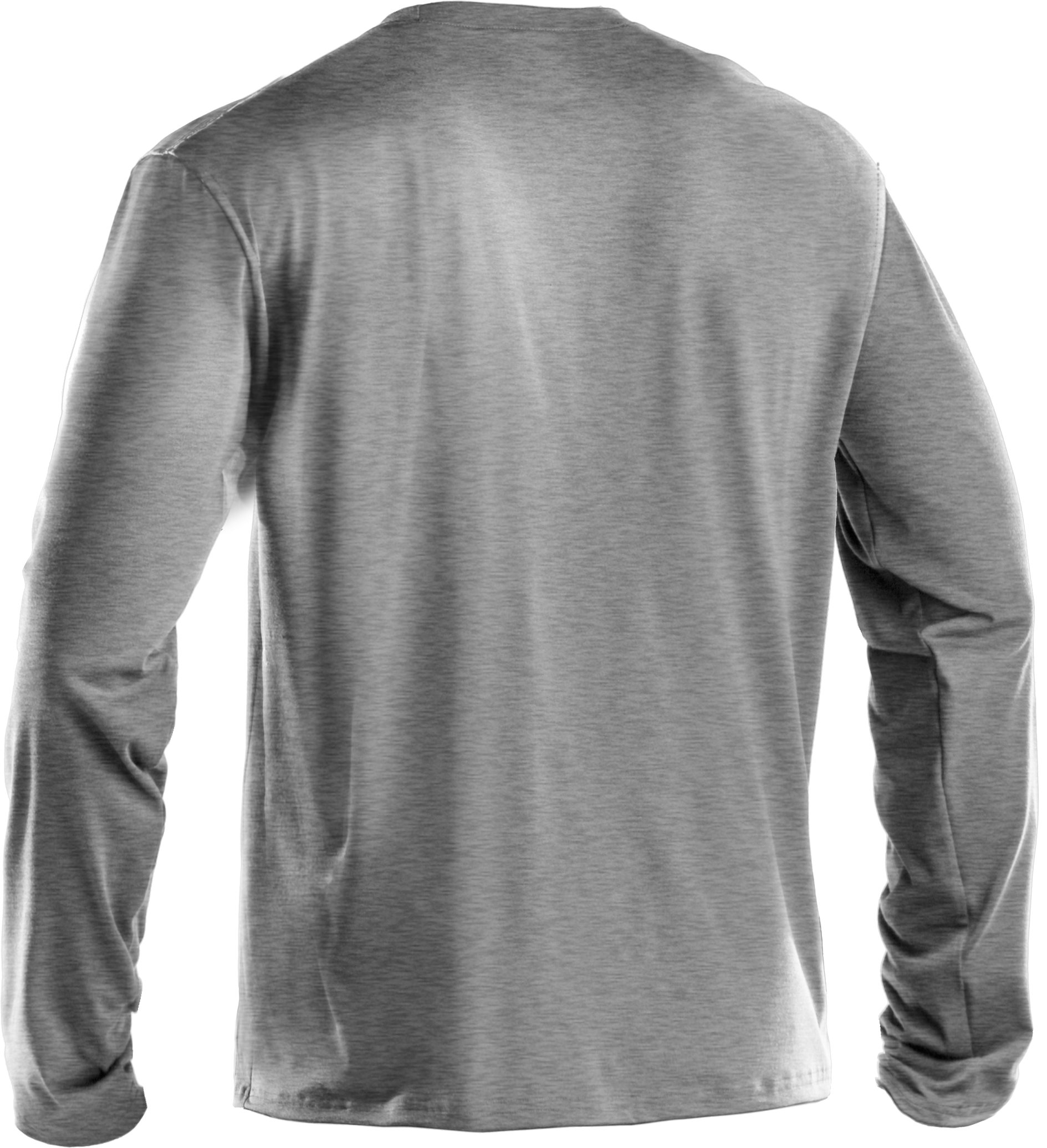 Men's UA Antler Long Sleeve T-Shirt, True Gray Heather, undefined