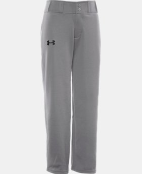 Boys' UA Clean Up Baseball Pants