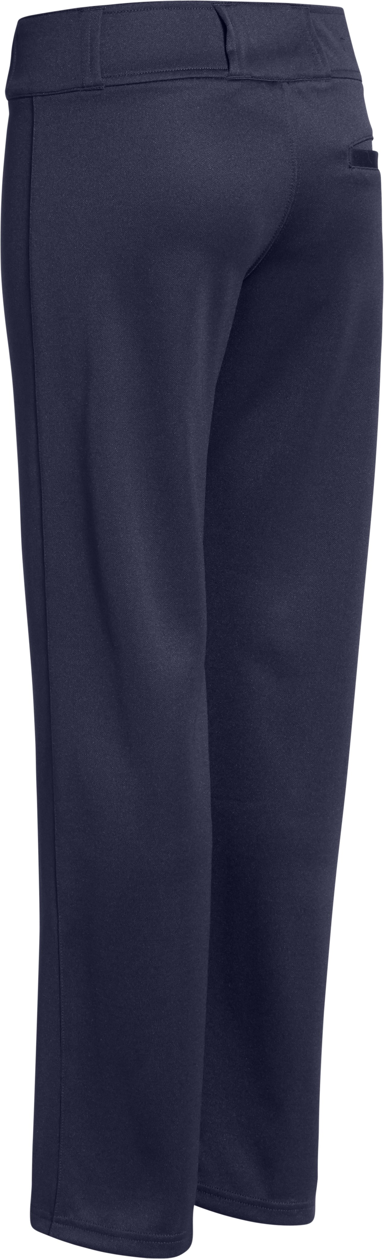 Boys' UA Clean Up Baseball Pants, Midnight Navy
