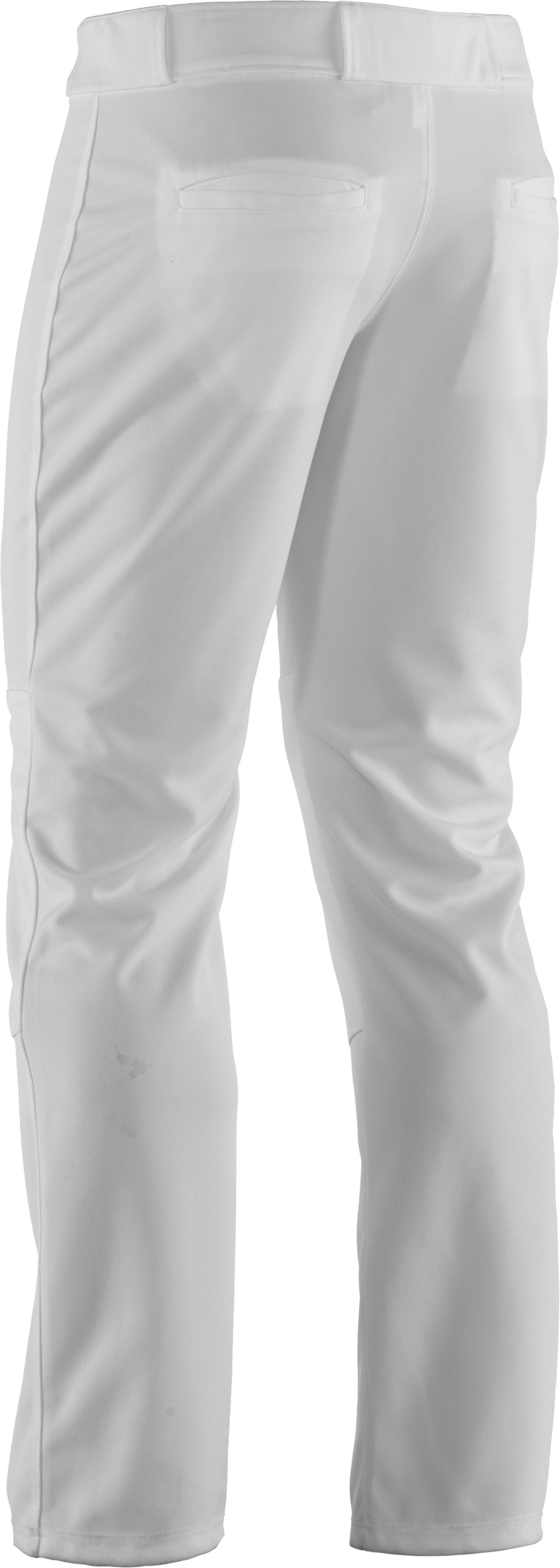 UA Clean Up - Pantalon de baseball pour homme, Blanc