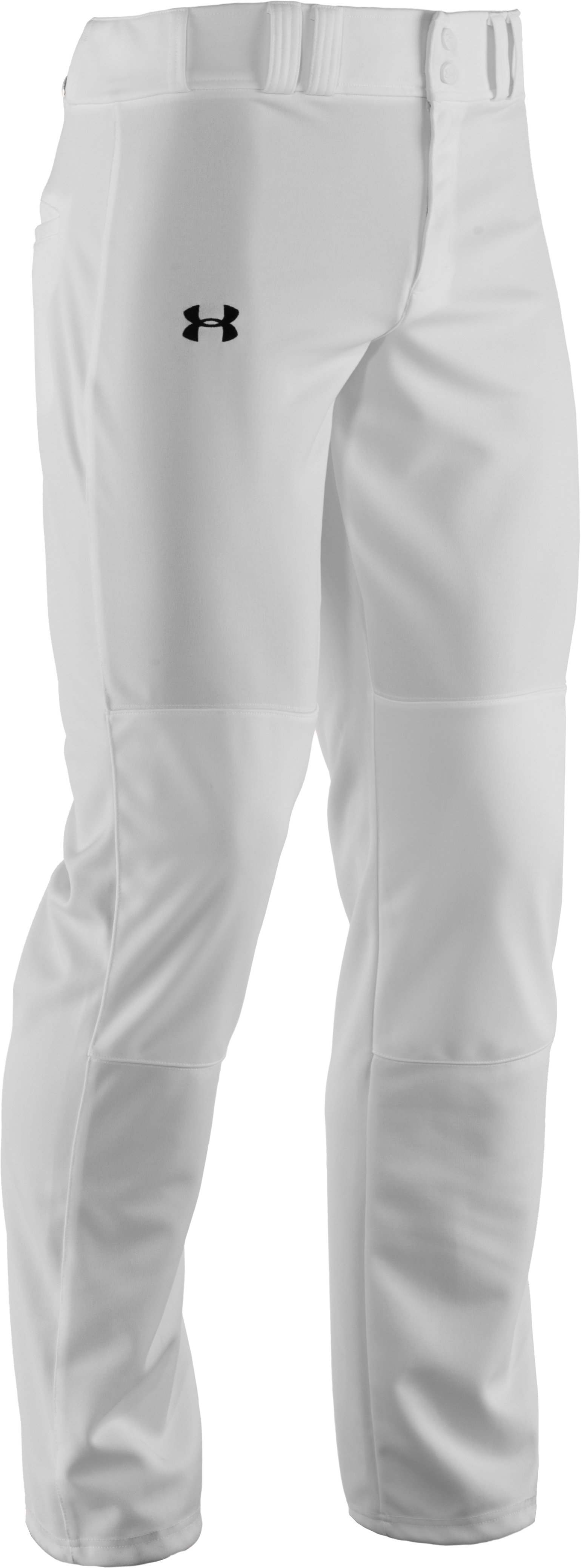 Men's UA Clean Up Baseball Pants, White
