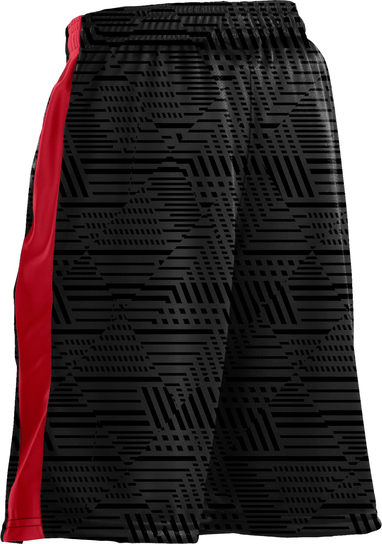 "Boys' UA Ultimate Embossed 9"" Shorts, Black"