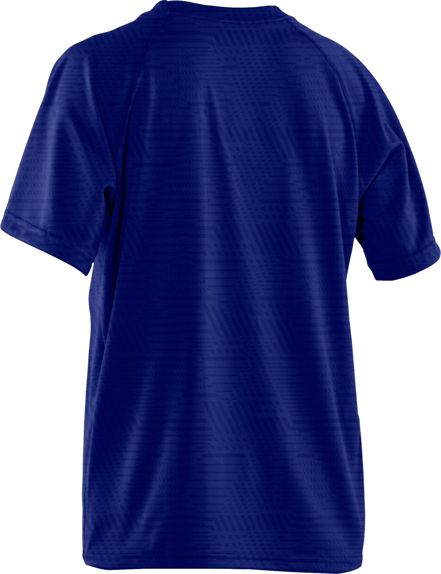 Boys' UA Big Logo Embossed T-Shirt, Royal