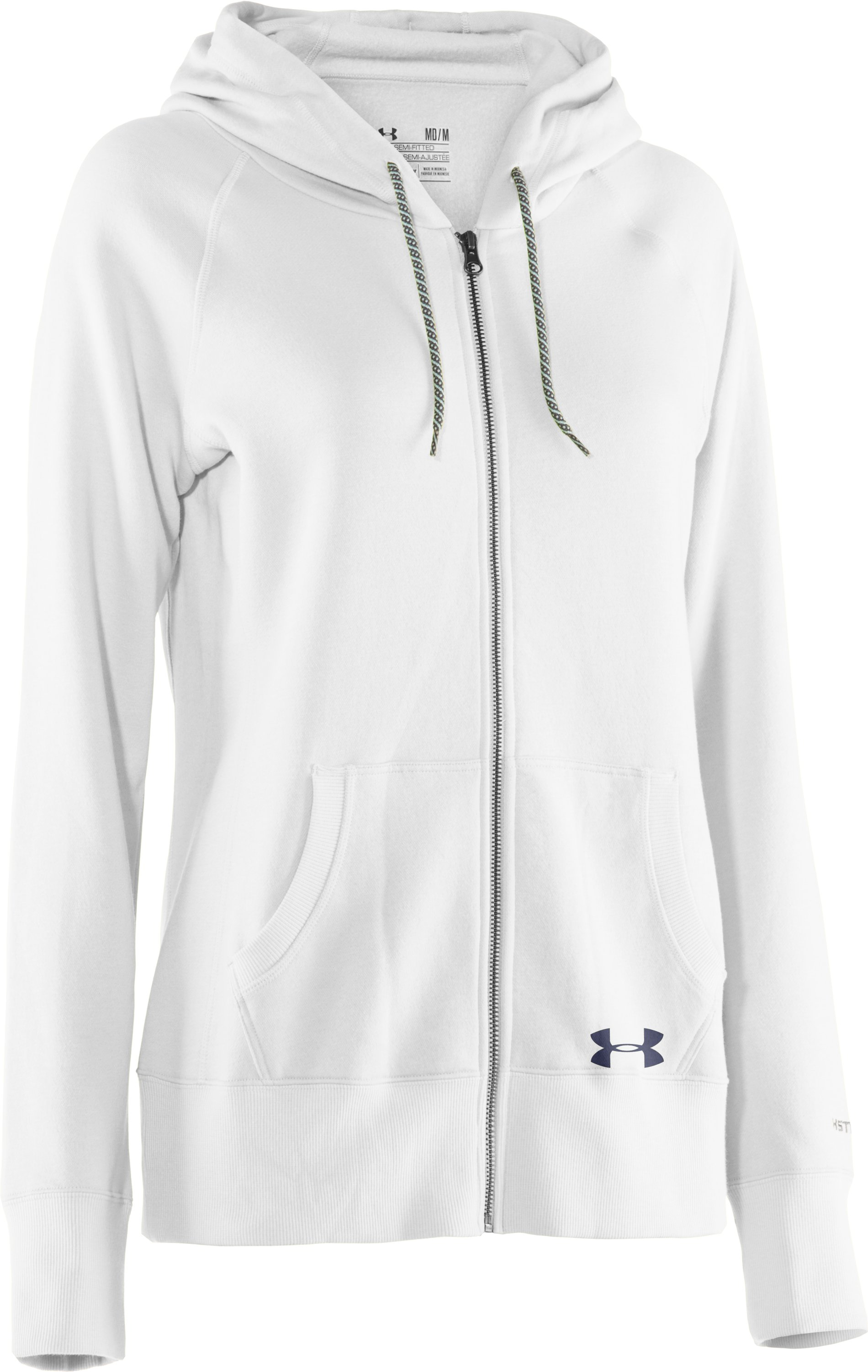 Women's UA Woodlands Hoodie, White, undefined