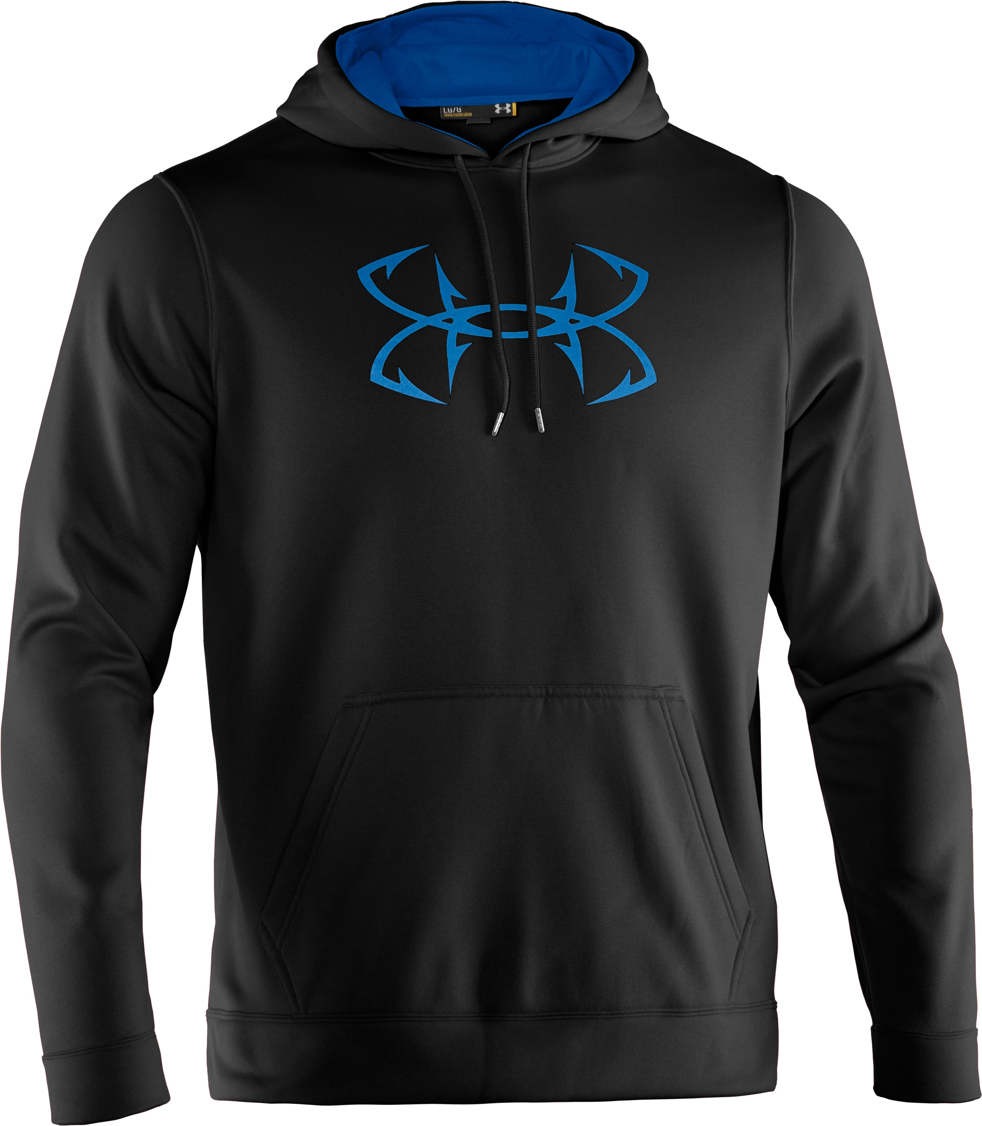 Men's UA Storm Fish Hook Hoodie, Black