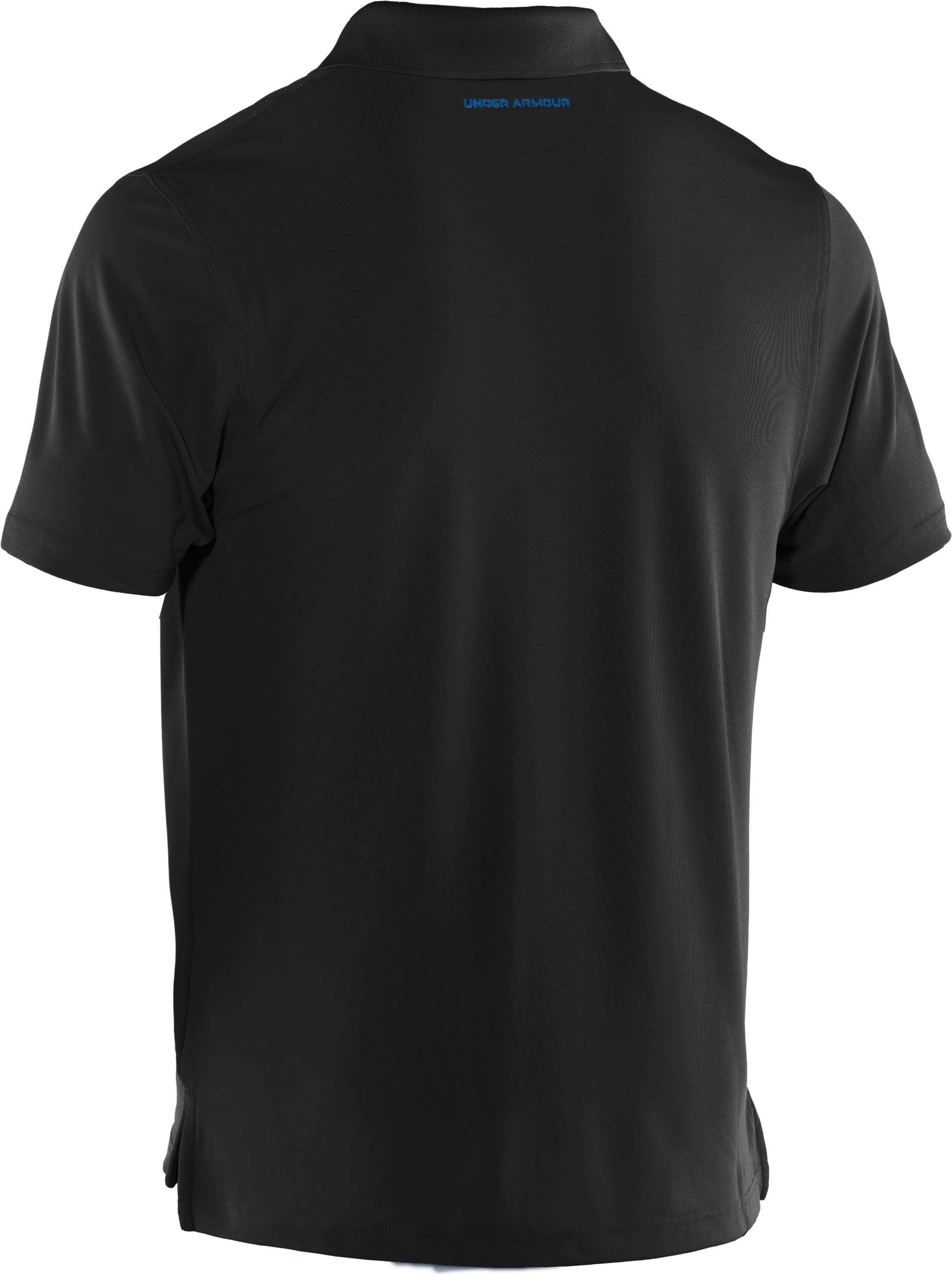Men's UA Performance Fish Hook Polo, Black