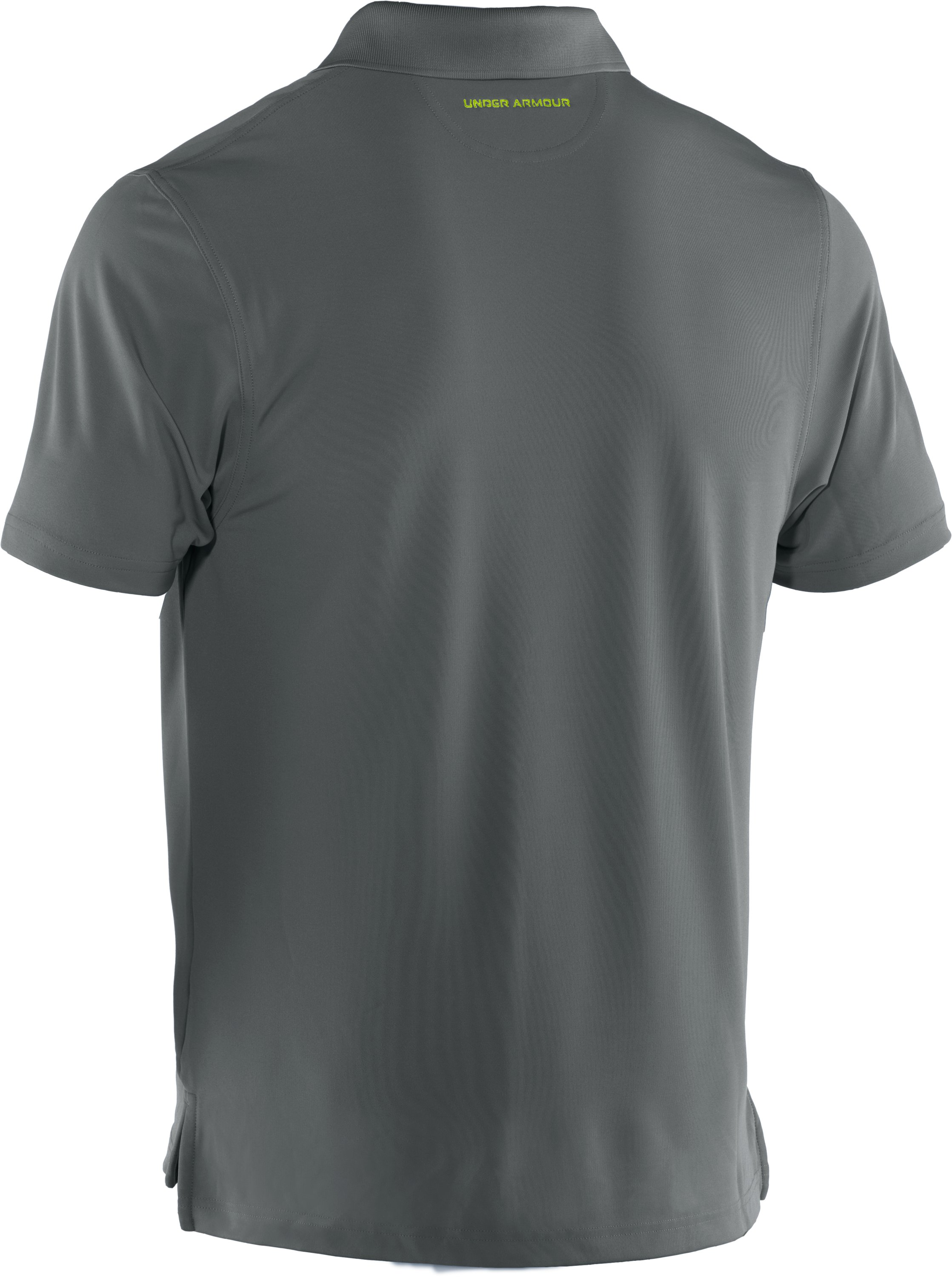 Men's UA Performance Fish Hook Polo, Battleship