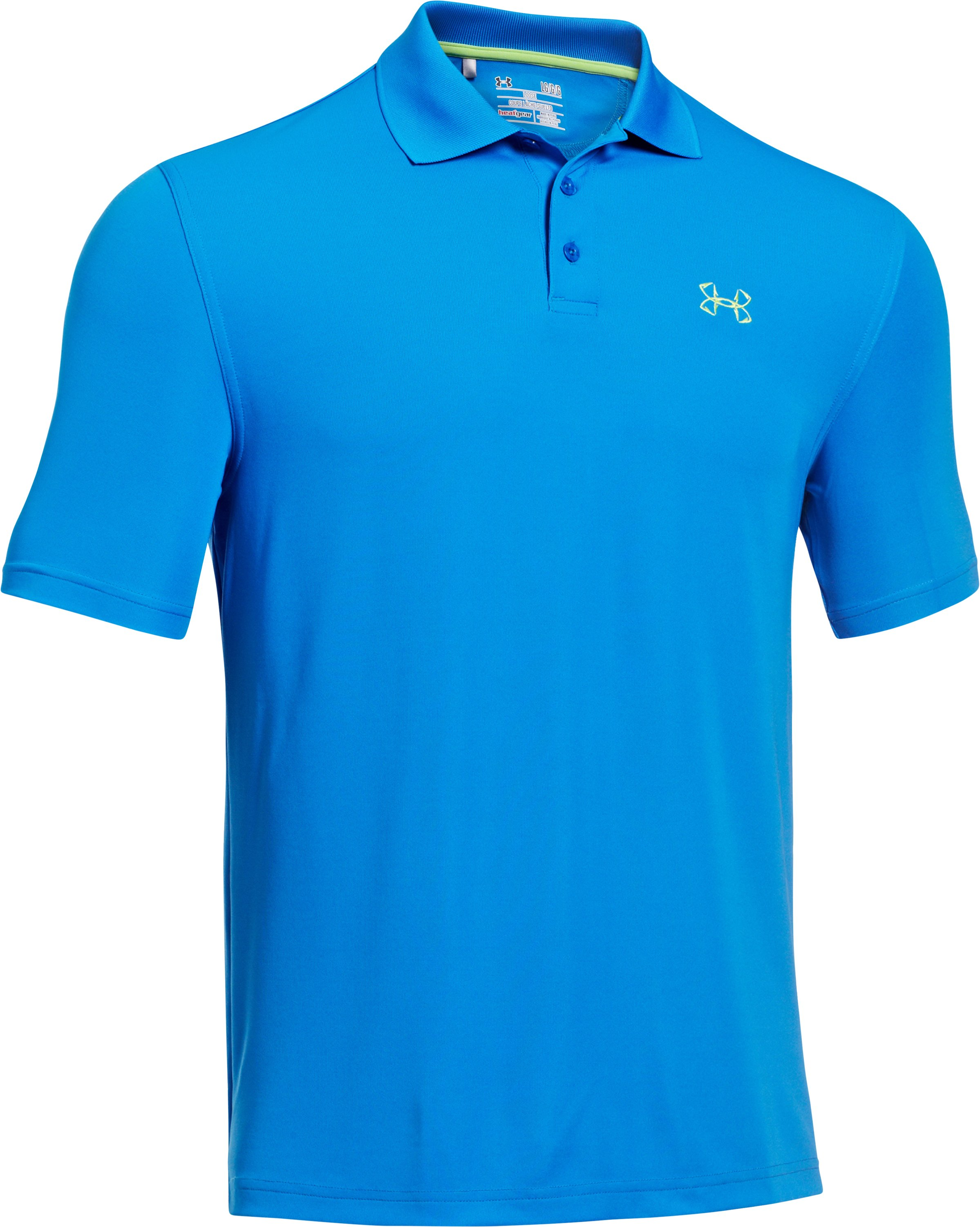 Men's UA Performance Fish Hook Polo, St. Tropez