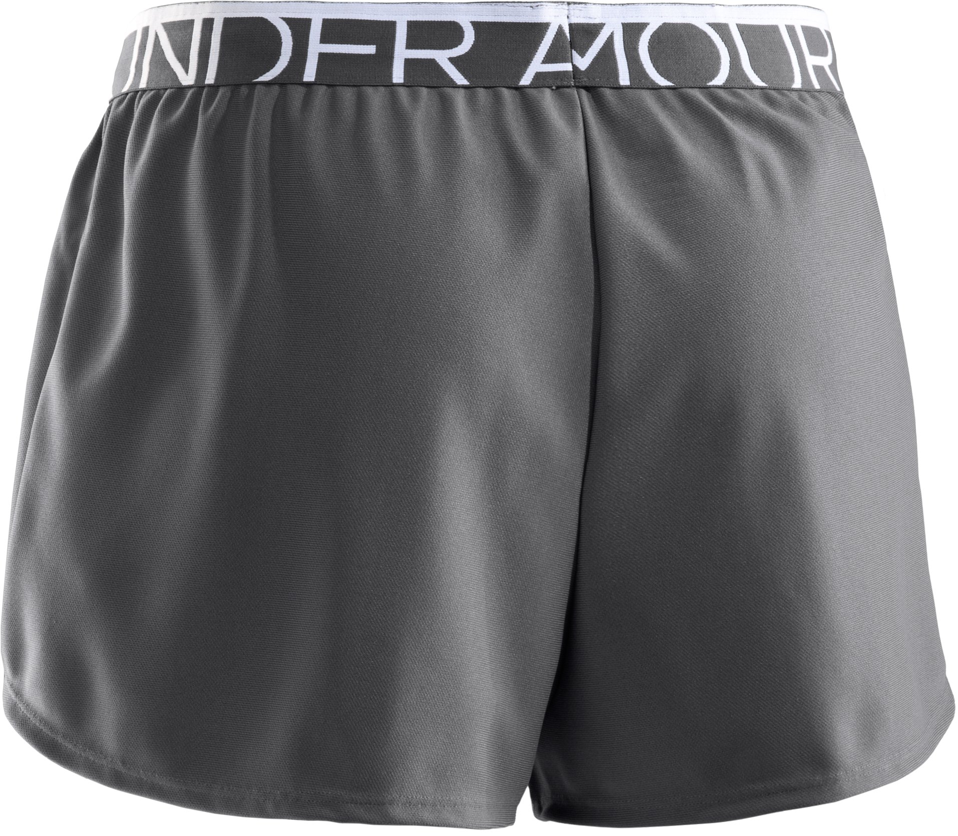 Women's UA Play Up Shorts, Graphite