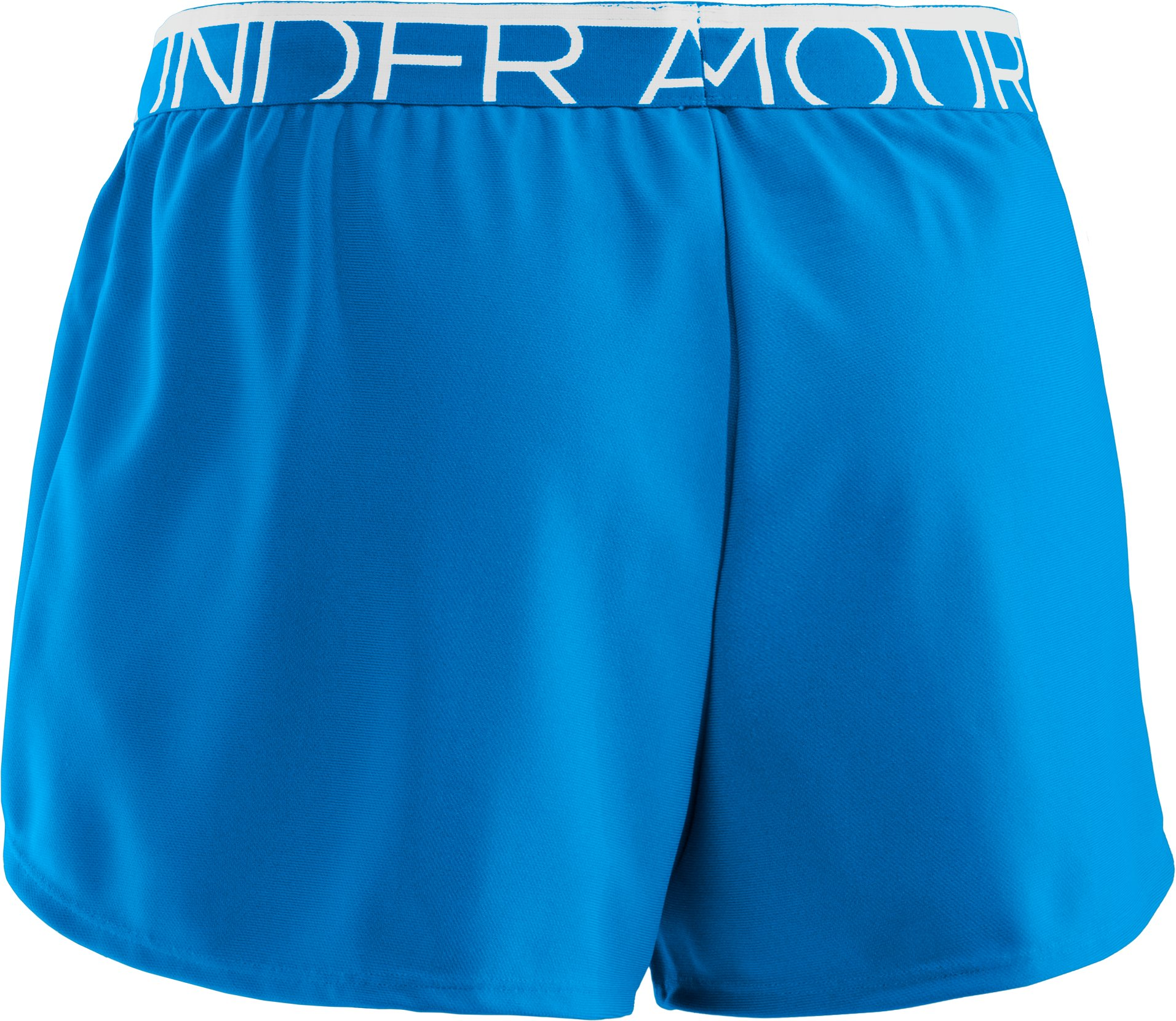 Women's UA Play Up Shorts, SNORKEL