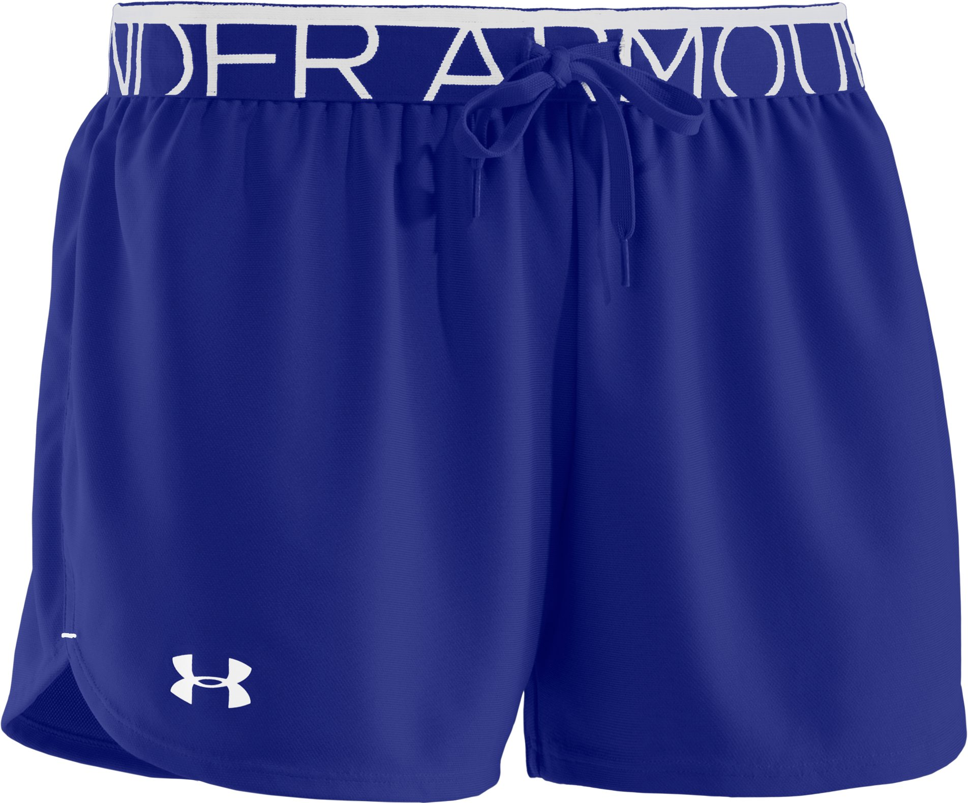 Women's UA Play Up Shorts, SIBERIAN IRIS