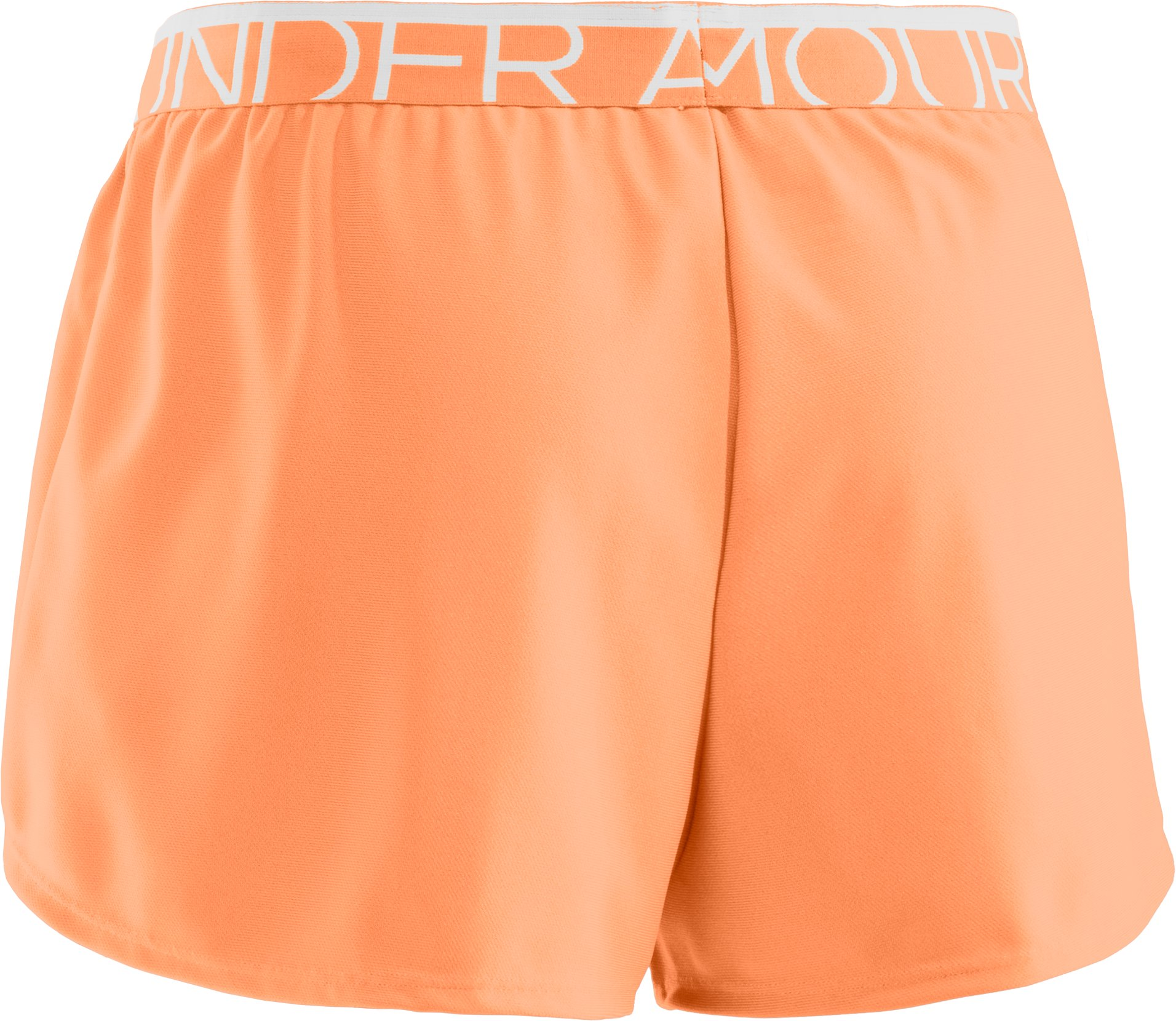 Women's UA Play Up Shorts, Afterglow