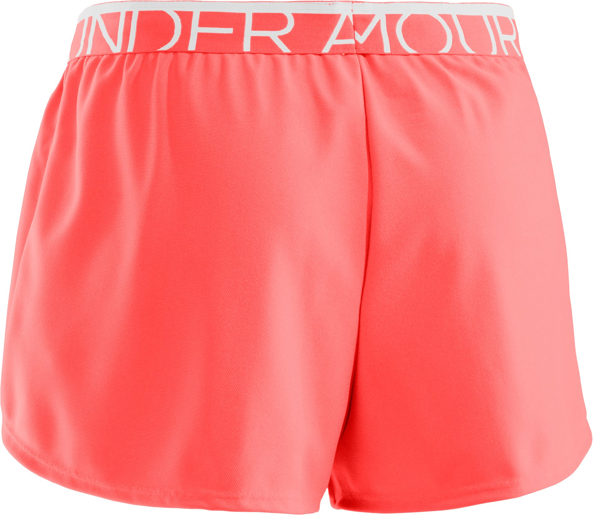 Women's UA Play Up Shorts, AFTER BURN
