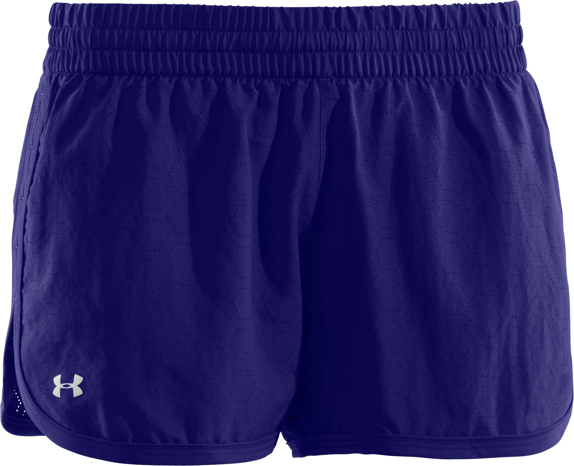 Women's Perforated UA Great Escape Shorts II, Monarchy