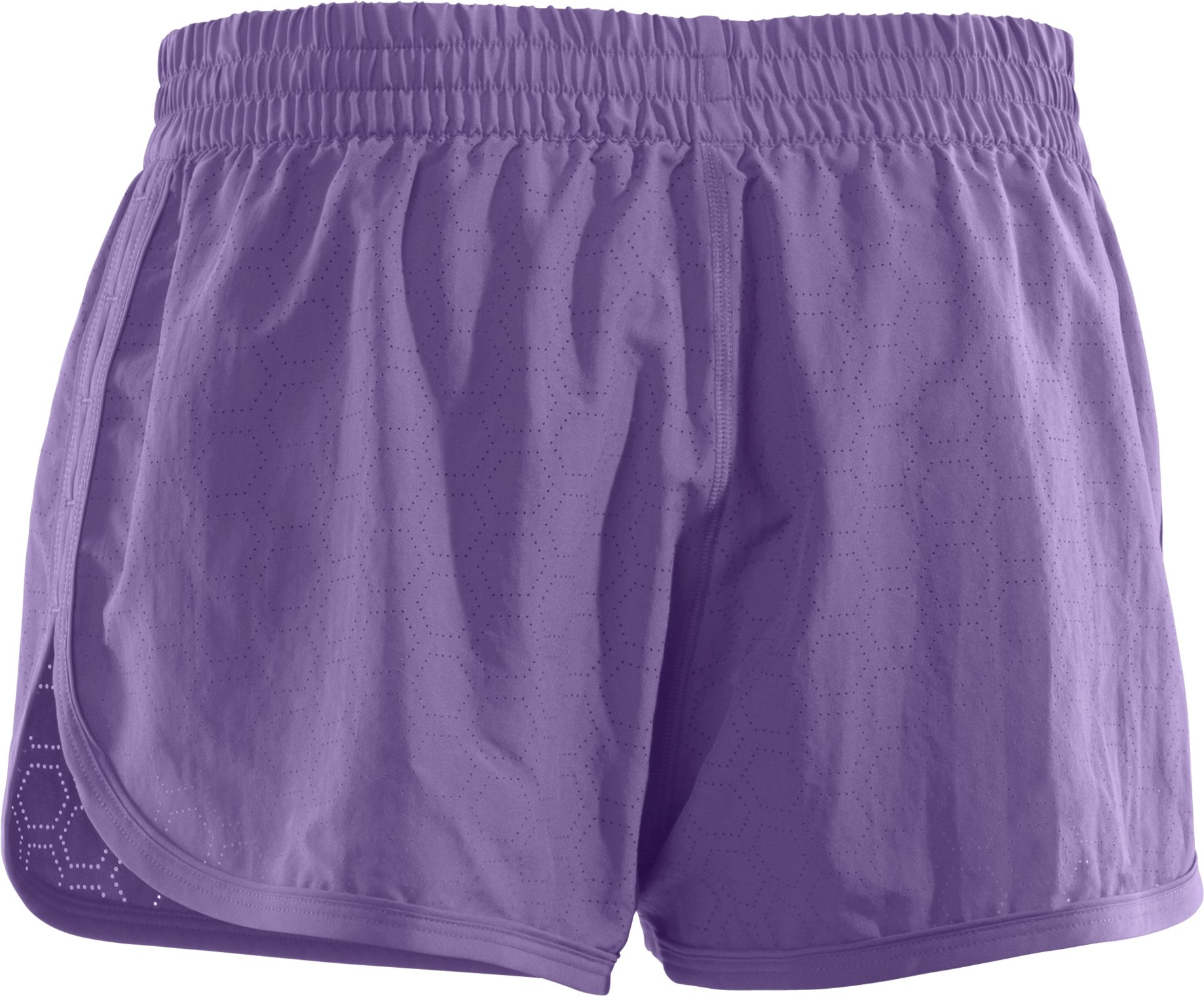 Women's Perforated UA Great Escape Shorts II, Petunia, undefined