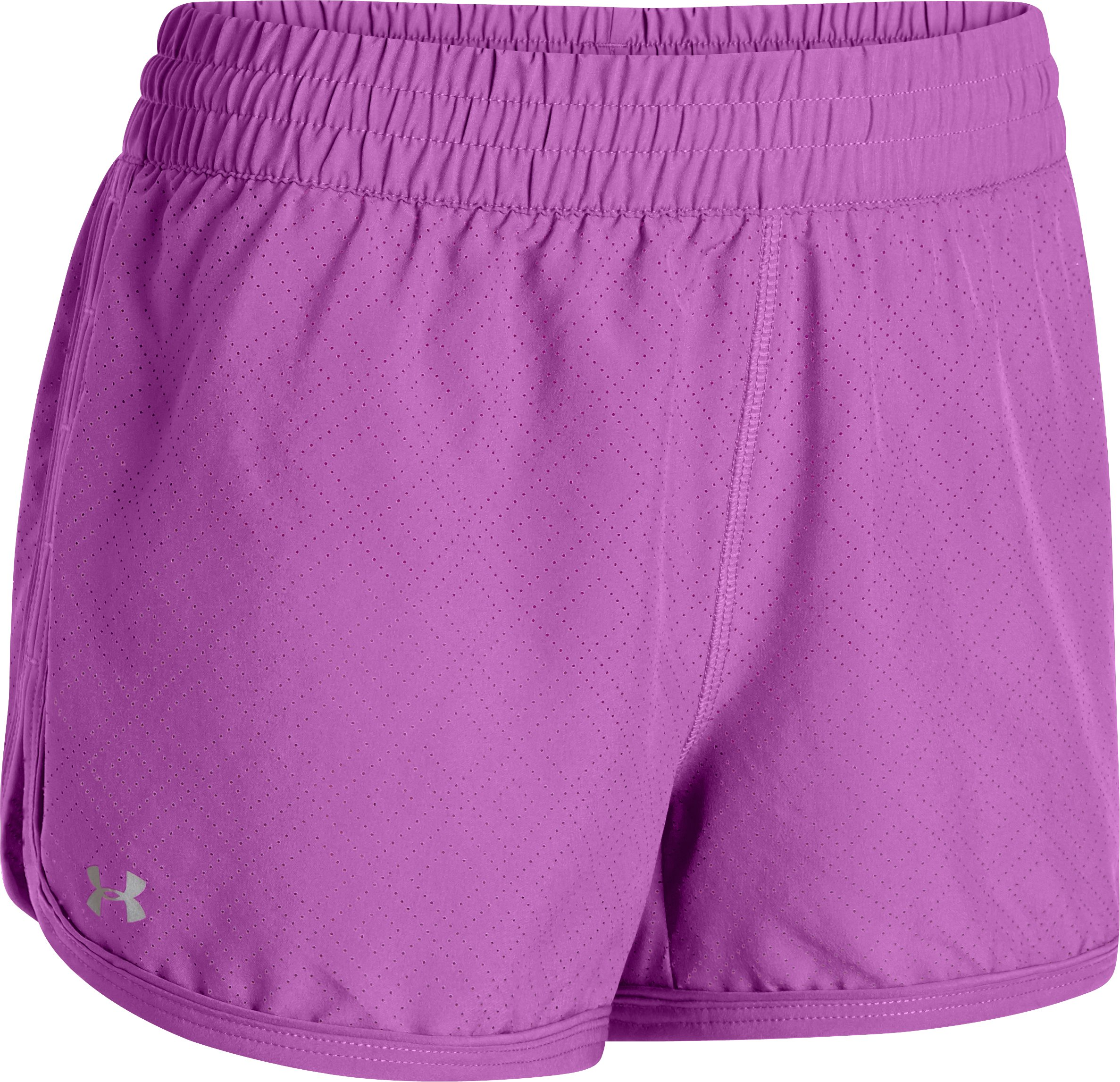 Women's Perforated UA Great Escape Shorts II, EXOTIC BLOOM