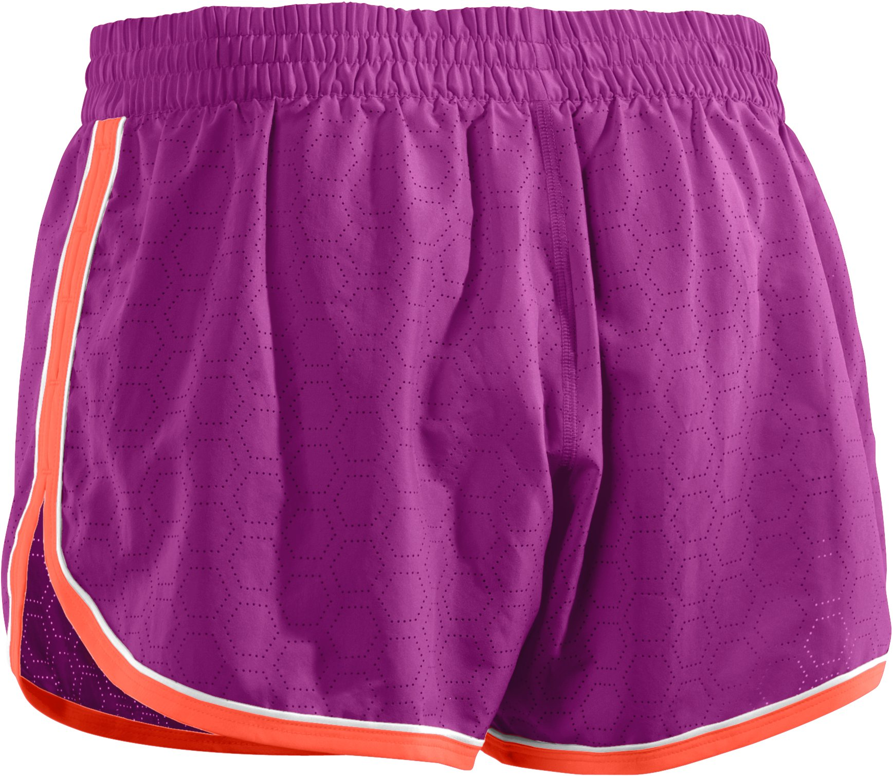 Women's Perforated UA Great Escape Shorts II, STROBE