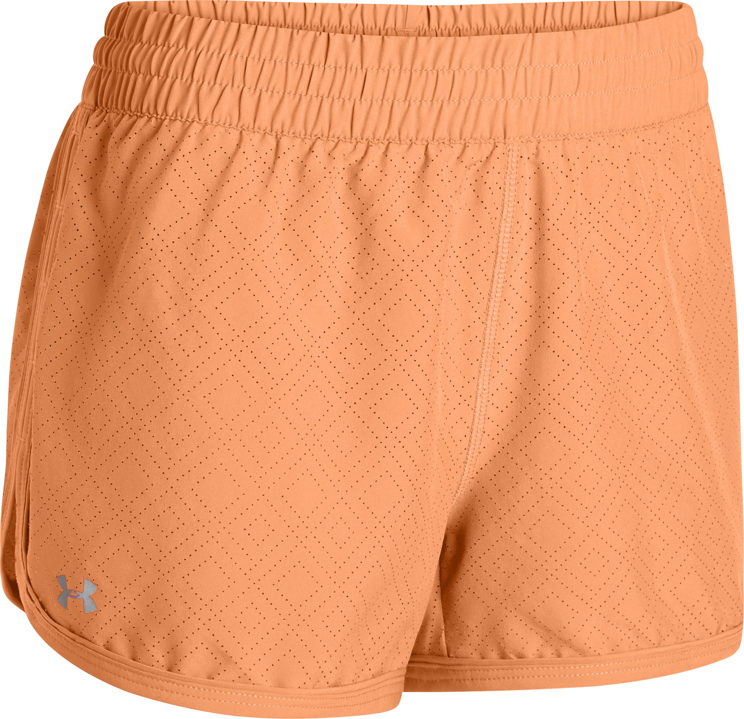 Women's Perforated UA Great Escape Shorts II, Afterglow
