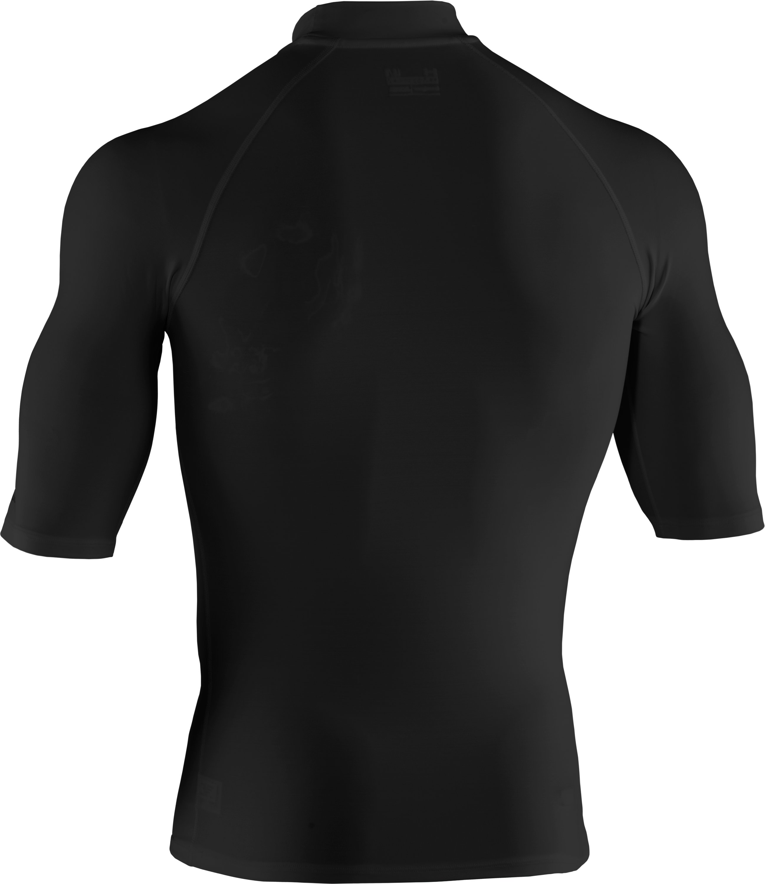 Men's coldblack® Rash Guard, Black ,