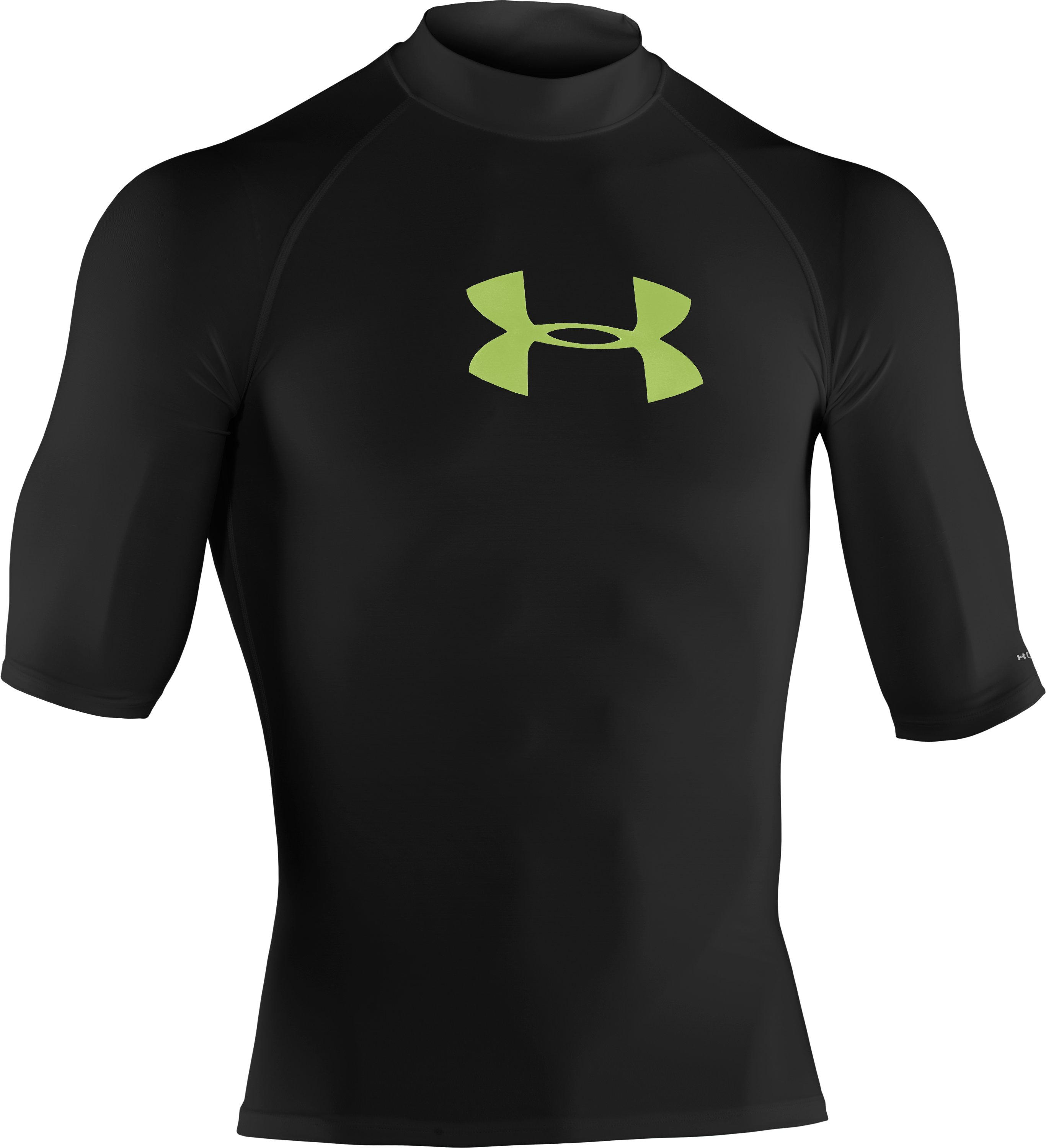 Men's coldblack® Rash Guard, Black