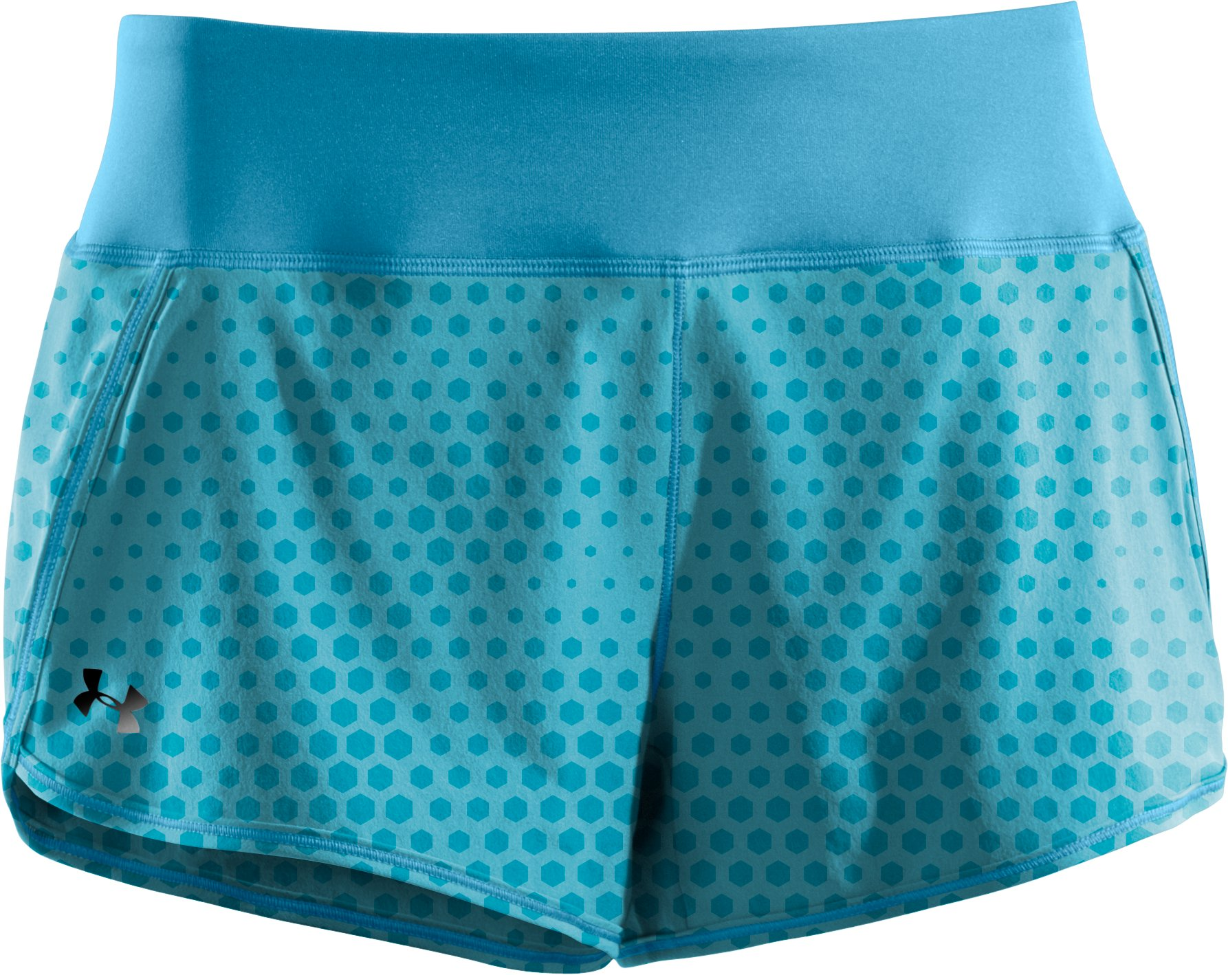 Women's UA Get Set Go Printed Shorts, Deceit