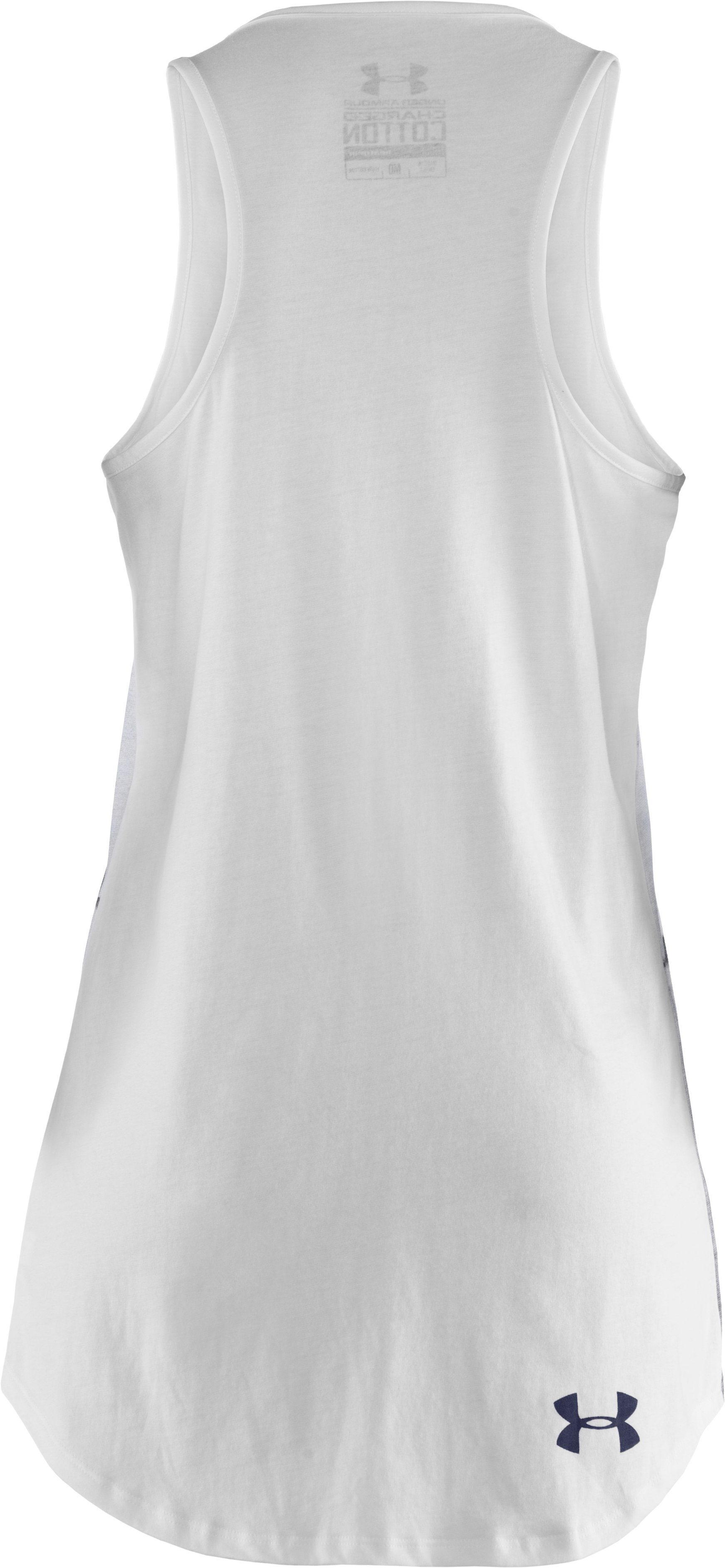 Women's UA Line Up Tank, White, undefined