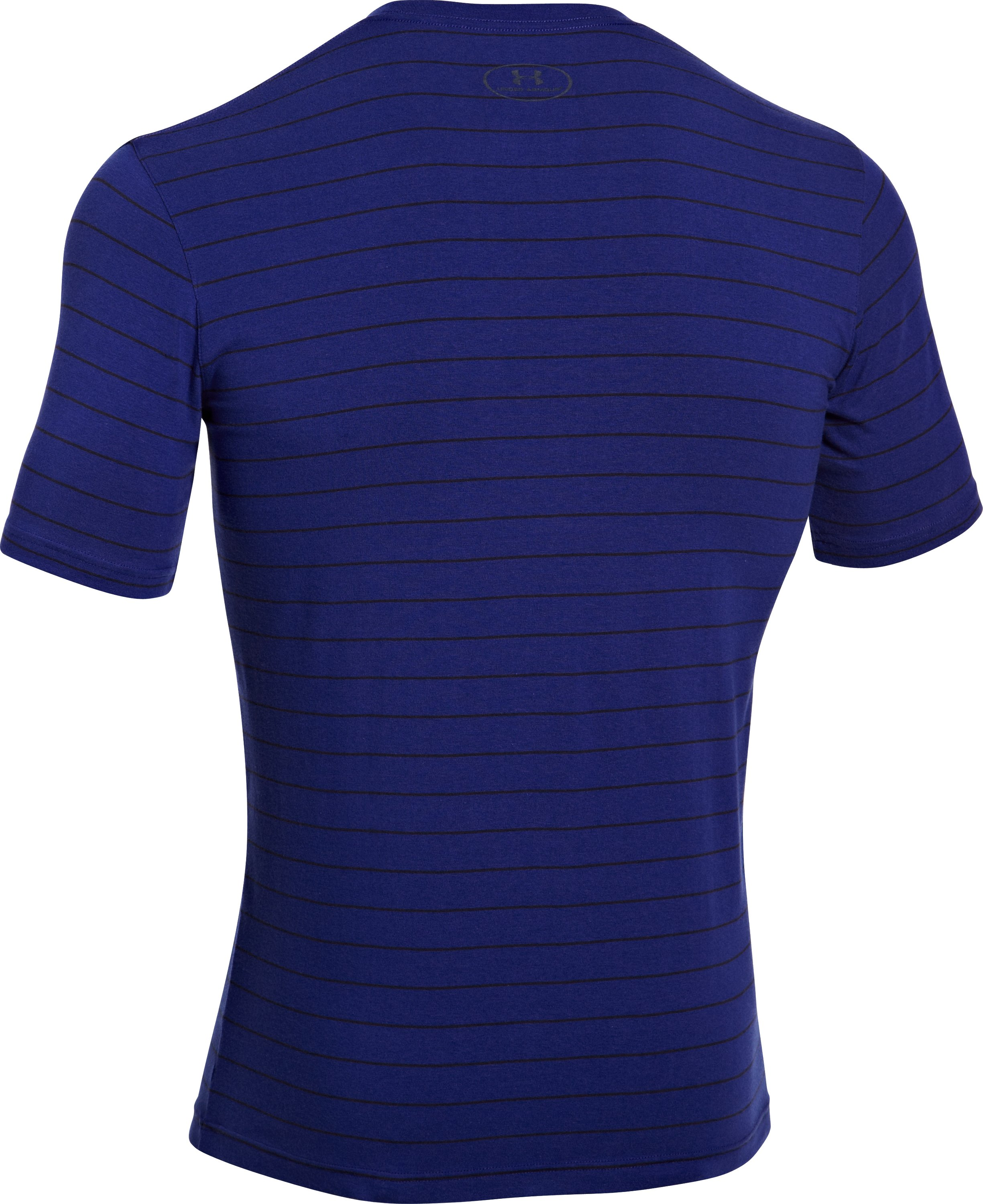 Men's Charged Cotton® Pinstripe T-Shirt, Caspian