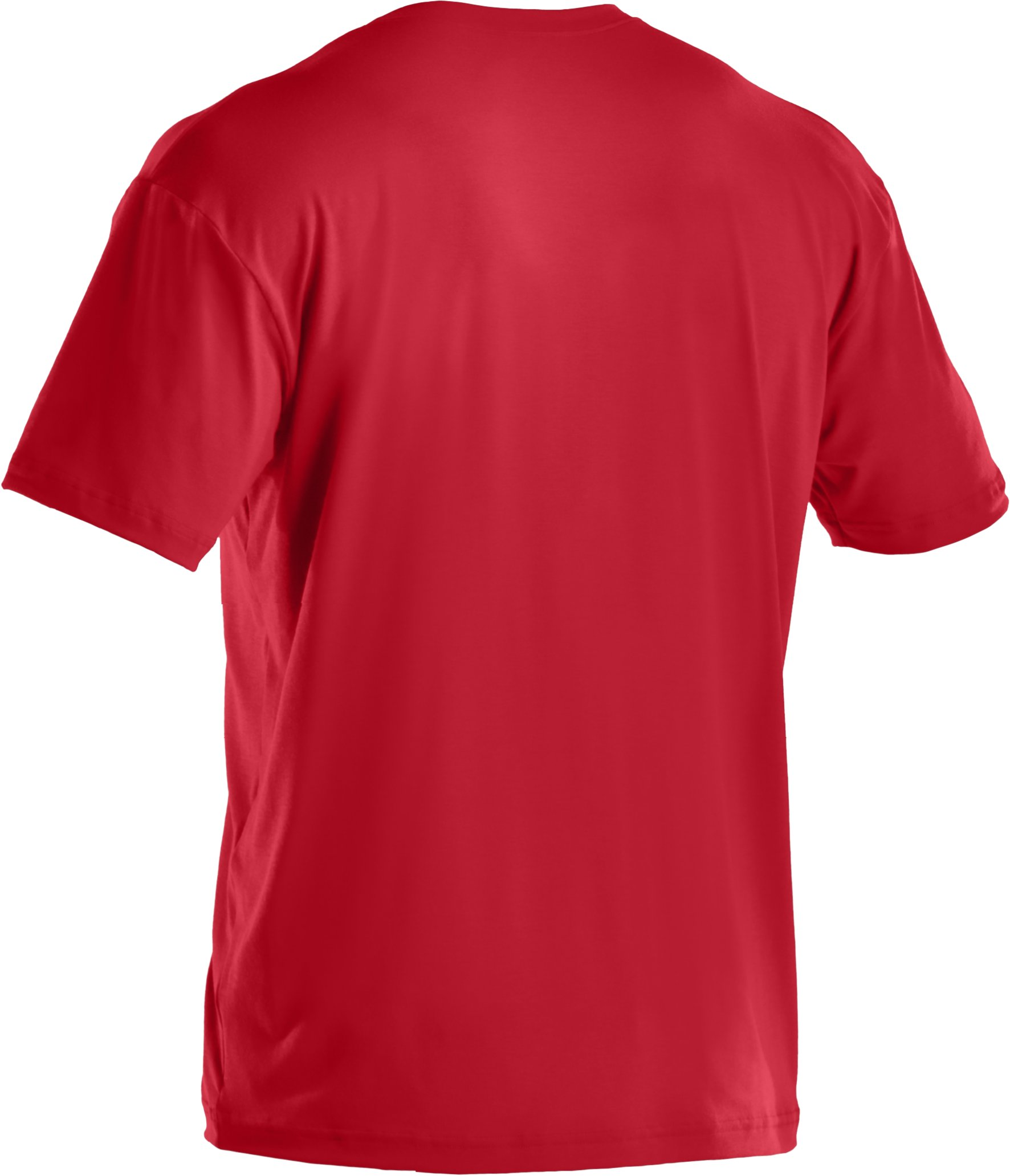 Men's UA Hoopsgalore Graphic T-Shirt, Red, undefined