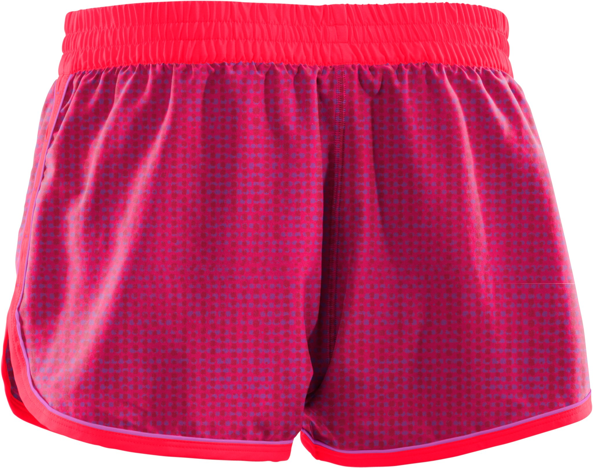 Women's UA Great Escape Printed Shorts II, Neo Pulse