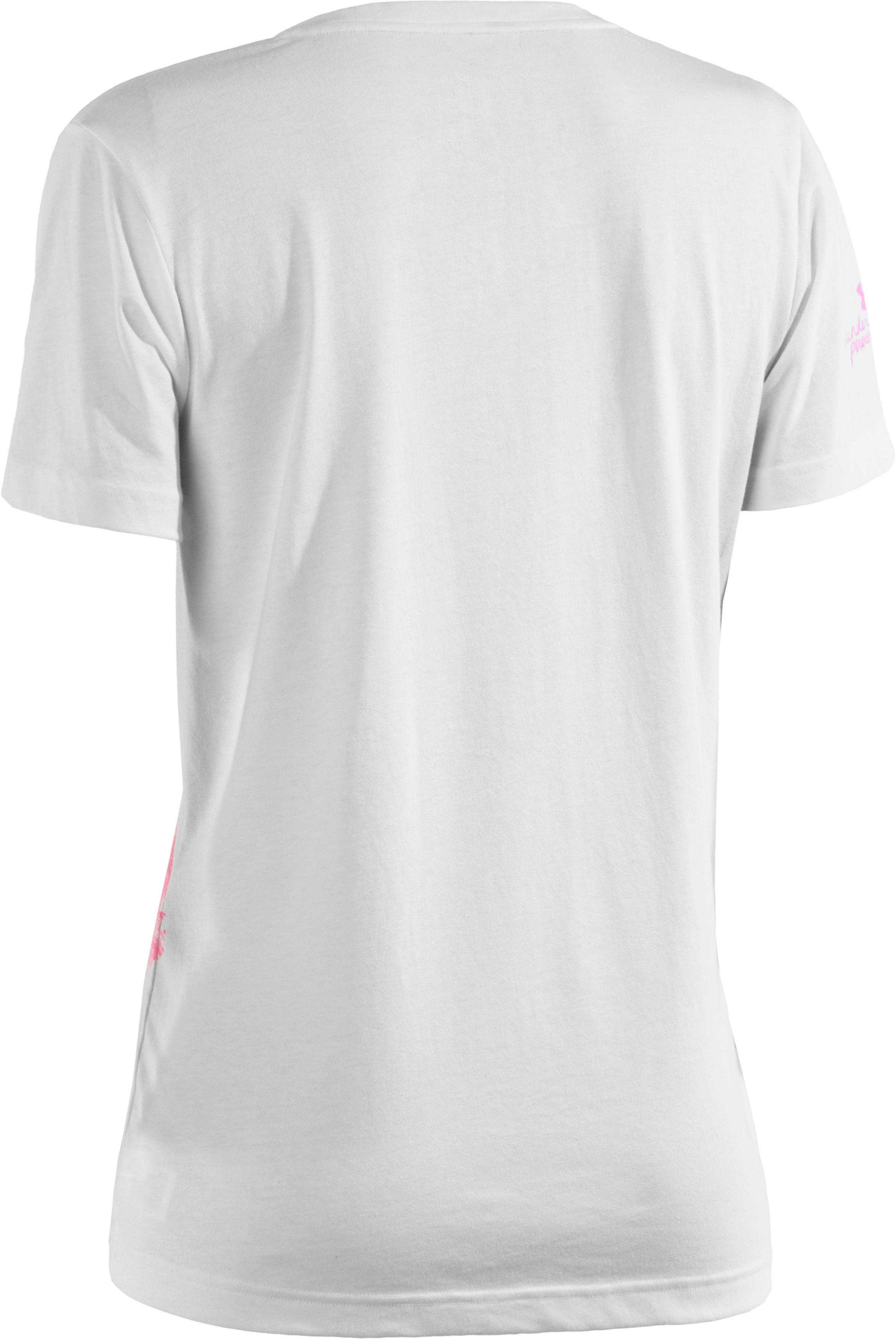Women's UA PIP® Camo Ribbon V-Neck, White
