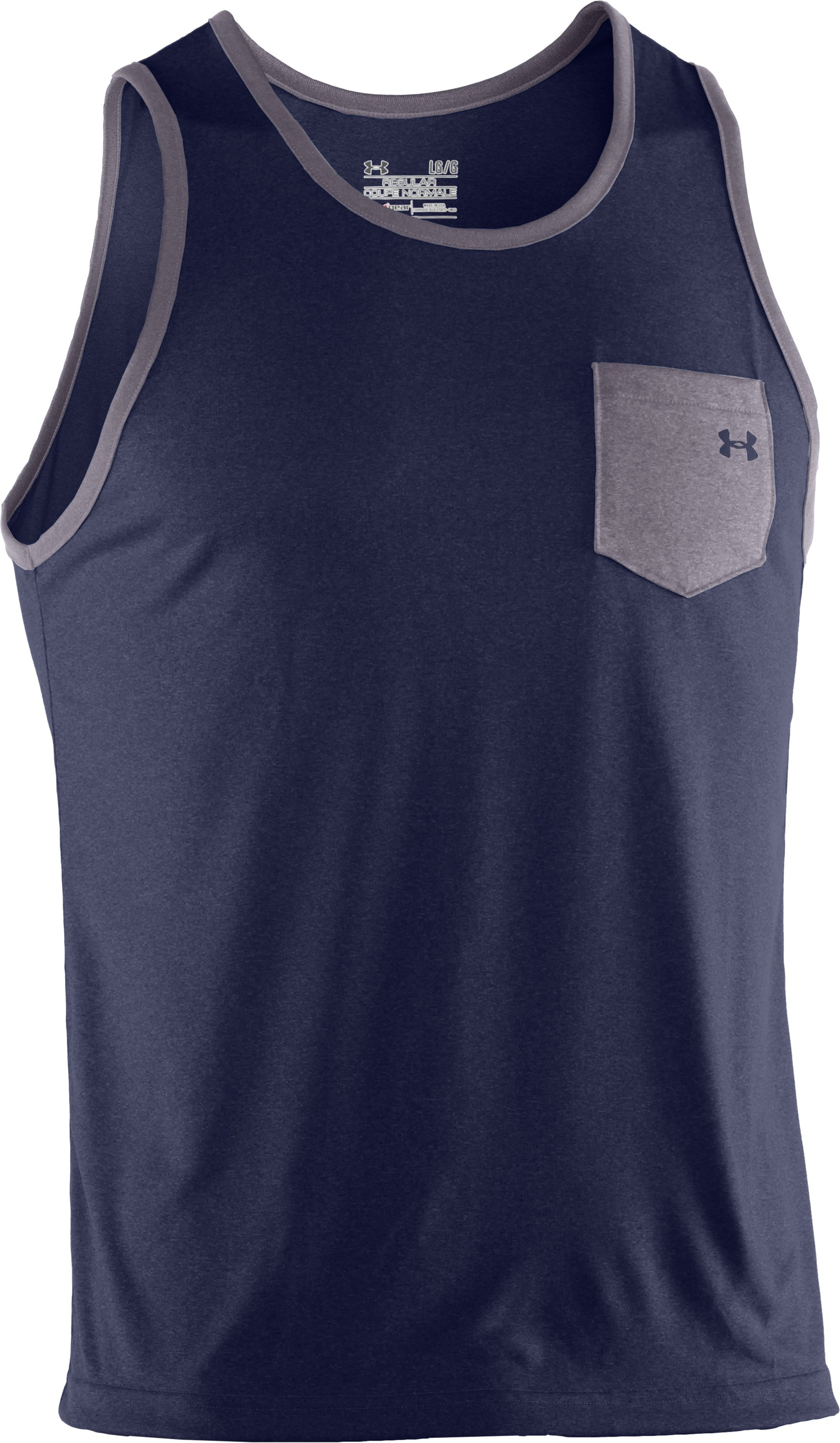 Men's UA Tech™ Jetty Tank, Shadow, undefined