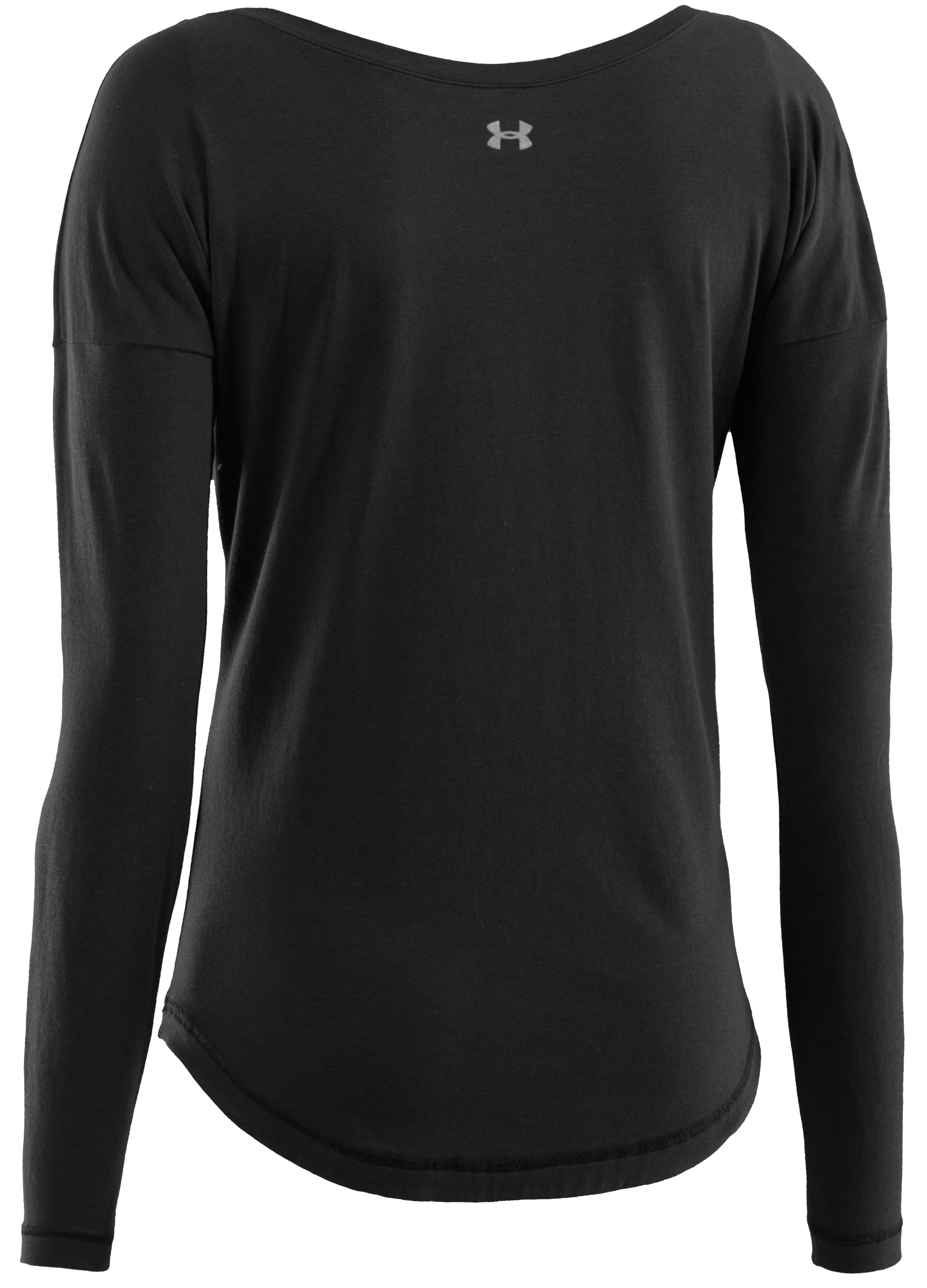 Women's UA Flow Long Sleeve, Black