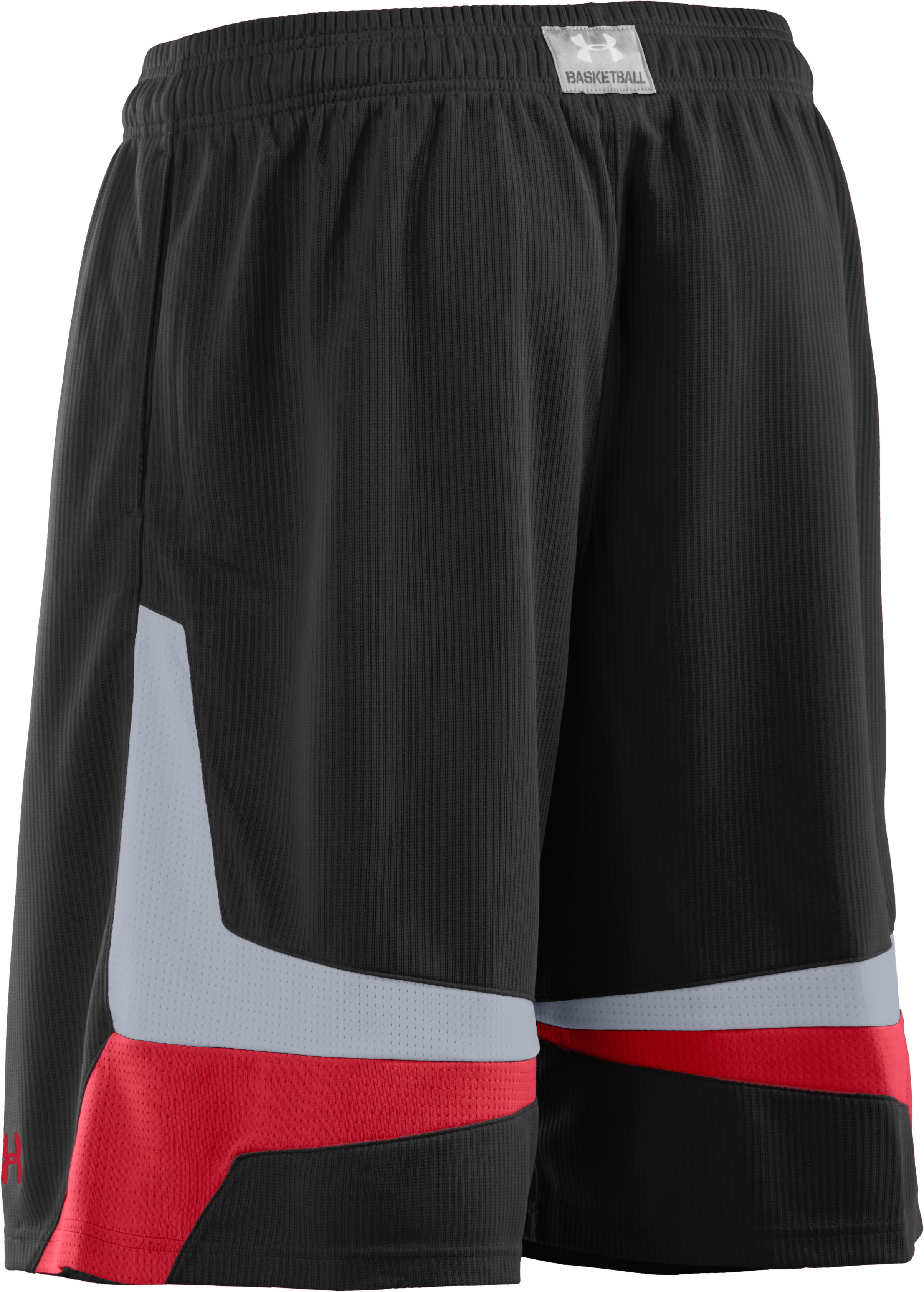 "Men's UA Mustang 10"" Basketball Shorts, Black"